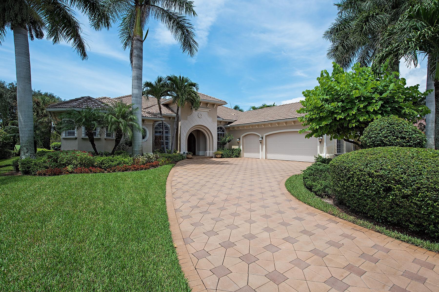 Casa Unifamiliar por un Venta en KENSINGTON - KENSINGTON GARDENS 2983 Gardens Blvd Naples, Florida 34105 Estados Unidos