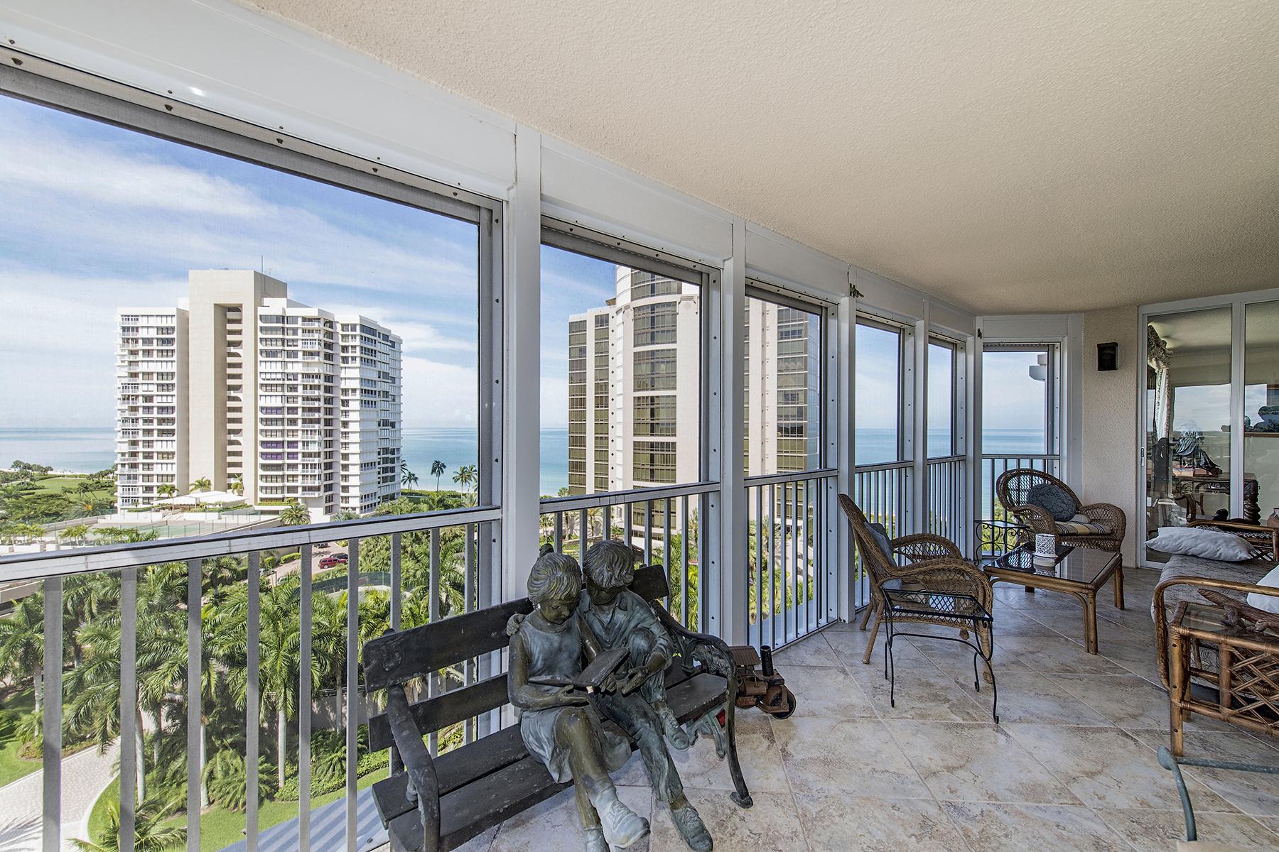 Кооперативная квартира для того Продажа на PARK SHORE - MONACO BEACH CLUB 4401 Gulf Shore Blvd N 1107 Naples, Флорида 34103 Соединенные Штаты