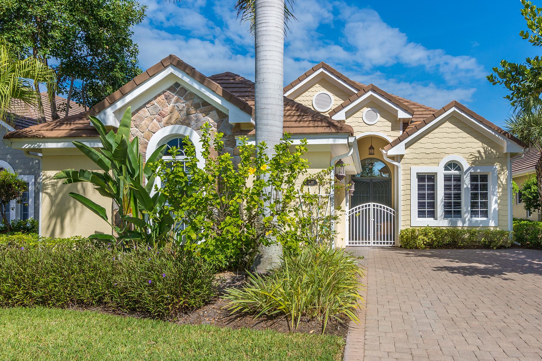 一戸建て のために 売買 アット FIDDLER'S CREEK - MALLARD'S LANDING 8439 Mallards Way Naples, フロリダ 34114 アメリカ合衆国