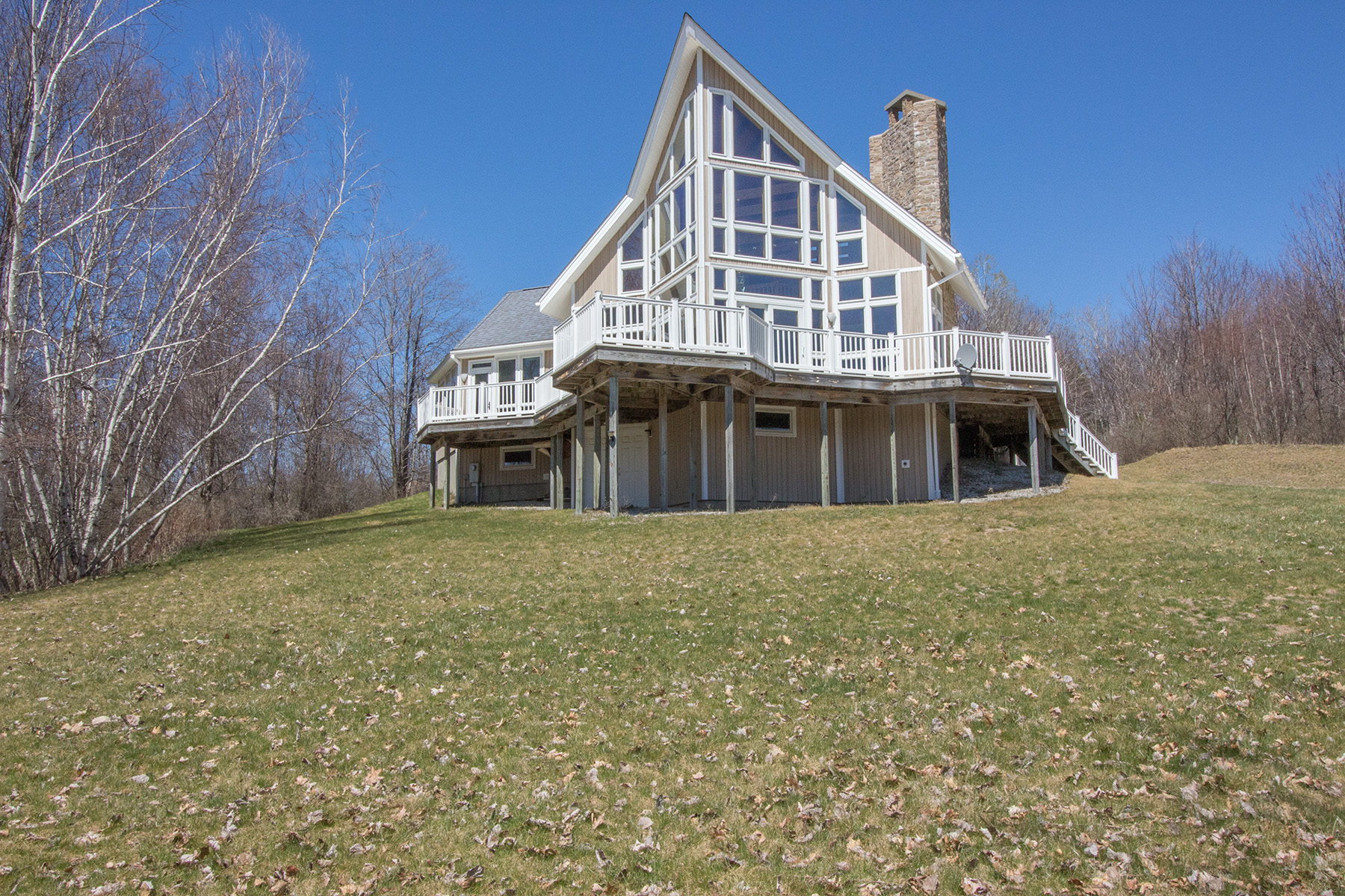 Maison unifamiliale pour l Vente à Elegant Architect-Designed Home 345 Blind Buck Rd Salem, New York 12865 États-Unis