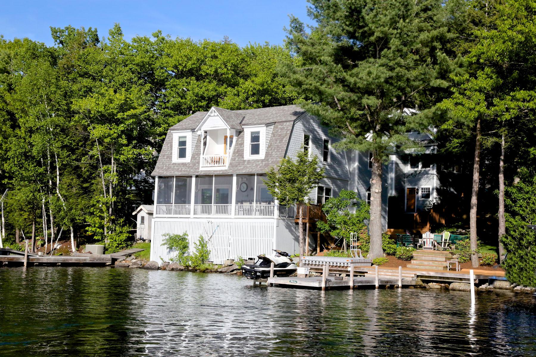 Single Family Home for Sale at Charming Lake Sunape 95 Lake Ave Sunapee, New Hampshire 03782 United States