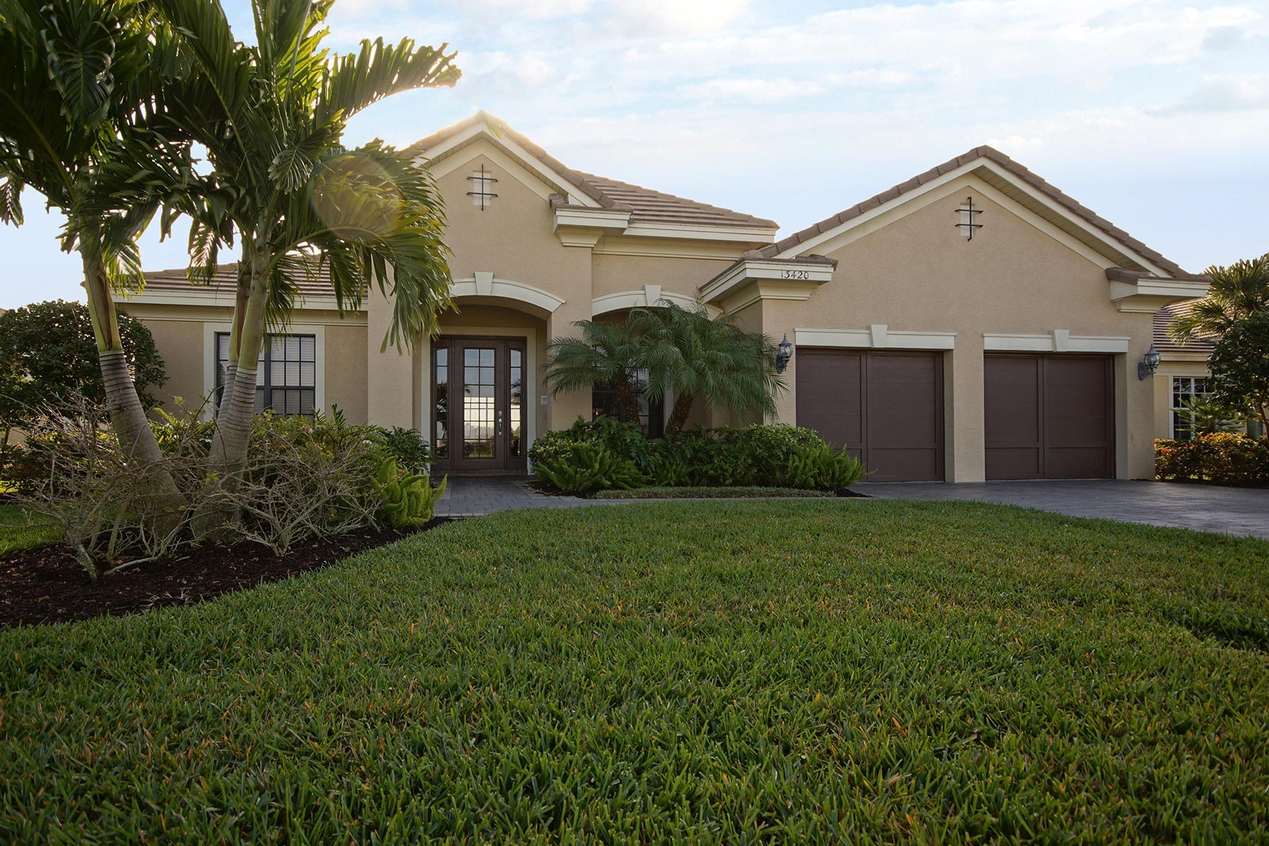 Casa para uma família para Venda às PALMETTO GROVE - VERANDAH 13420 Palmetto Grove Dr Fort Myers, Florida, 33905 Estados Unidos