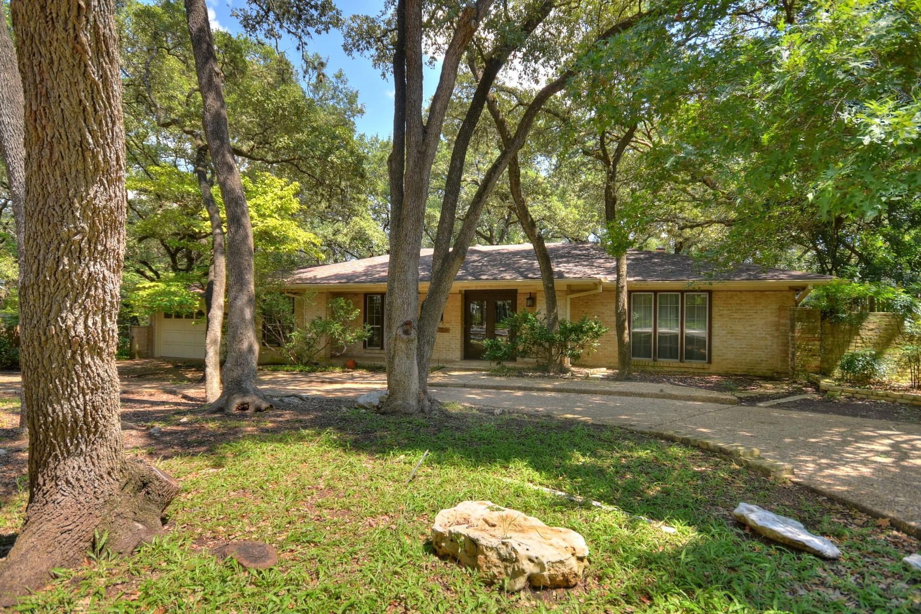 Casa Unifamiliar por un Venta en North West Hills Original 7313 Mesa Dr Austin, Texas 78731 Estados Unidos
