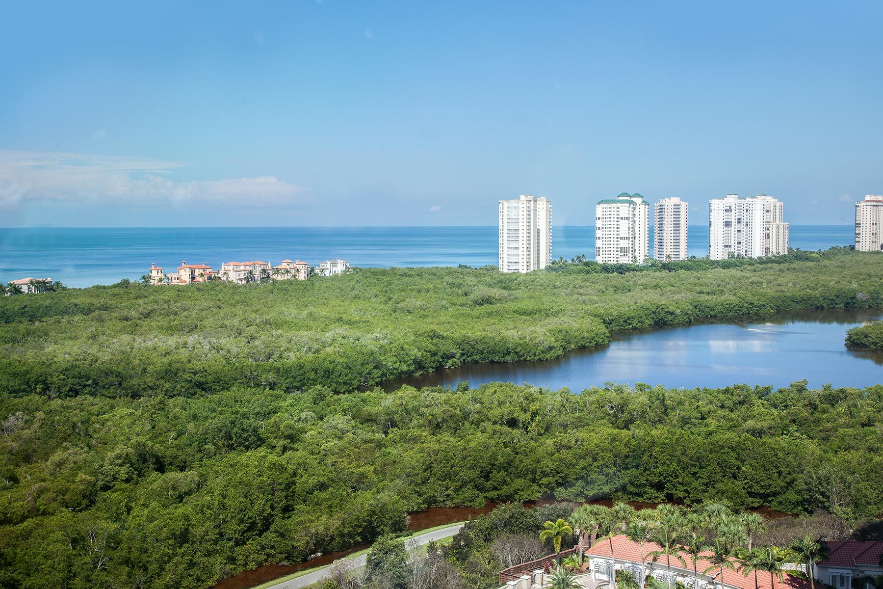 콘도미니엄 용 매매 에 PELICAN BAY - CLARIDGE 7515 Pelican Bay Blvd 17D Naples, 플로리다 34108 미국