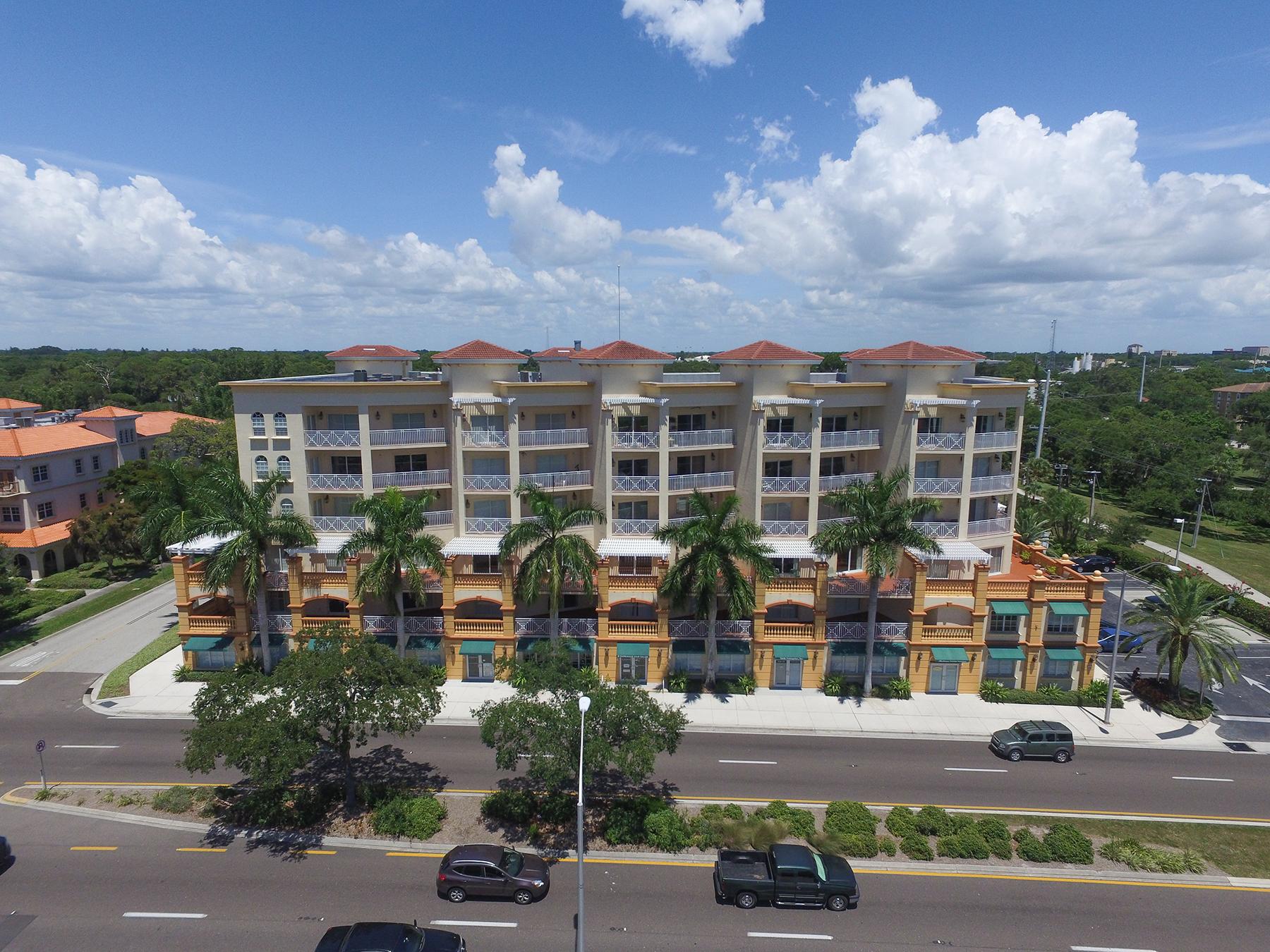 共管物業 為 出售 在 SAN MARCO 1188 N Tamiami Trl 202 Sarasota, 佛羅里達州, 34236 美國