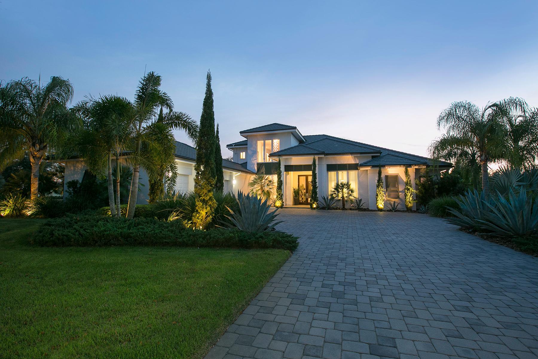 独户住宅 为 销售 在 THE LAKE CLUB 16210 Clearlake Ave 莱克伍德牧场, 佛罗里达州, 34202 美国