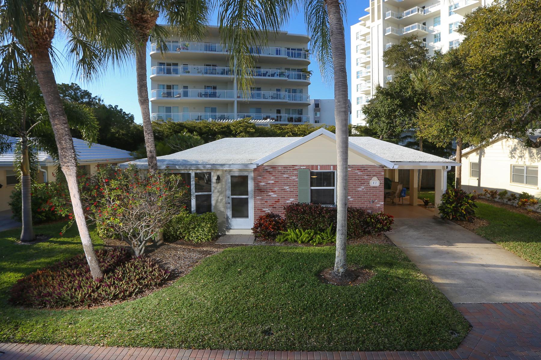 타운하우스 용 매매 에 SIESTA KEY 6145 Midnight Pass Rd F7 Sarasota, 플로리다 34242 미국
