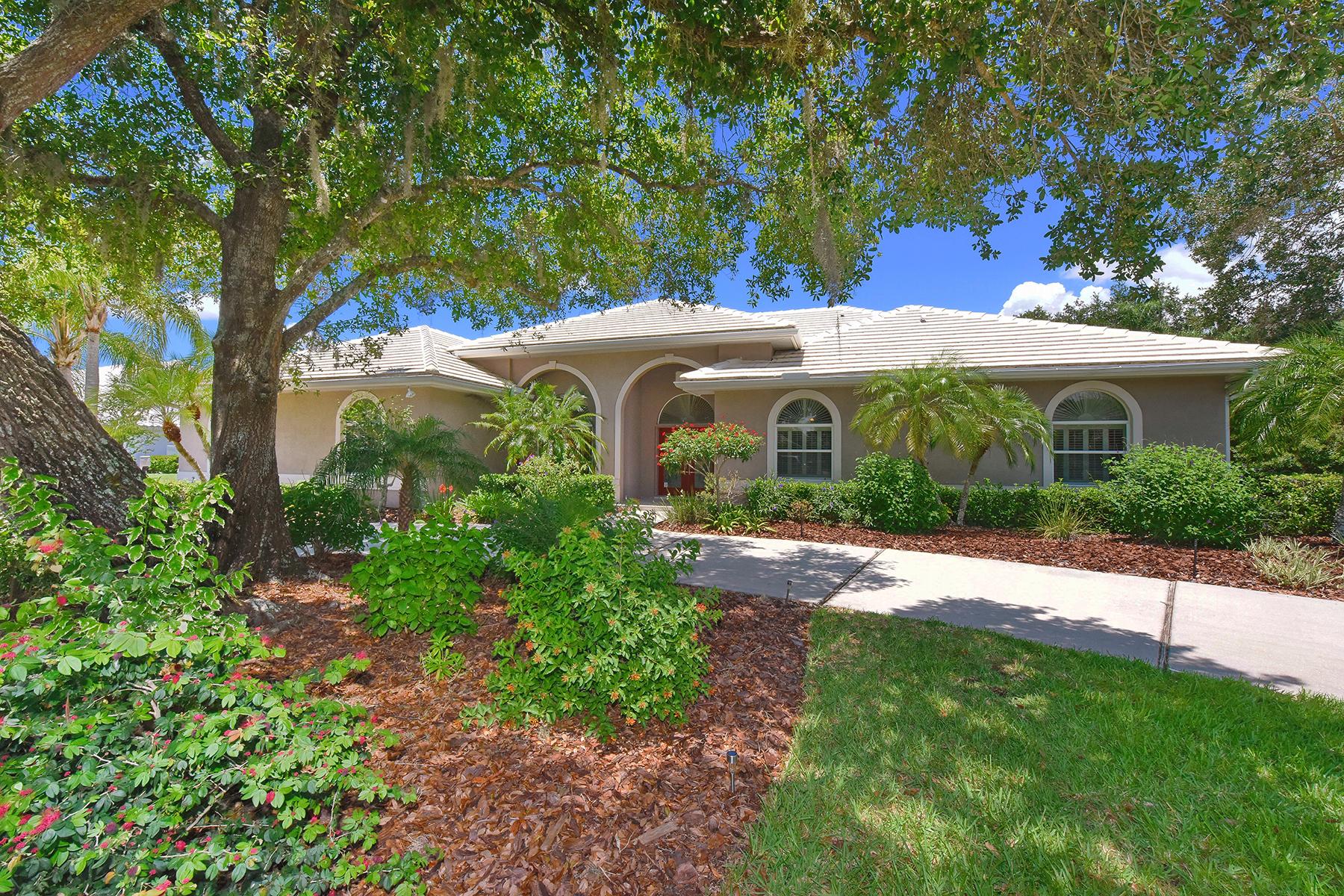 Casa para uma família para Venda às LAUREL OAK 7724 Alister Mackenzie Dr Sarasota, Florida 34240 Estados Unidos