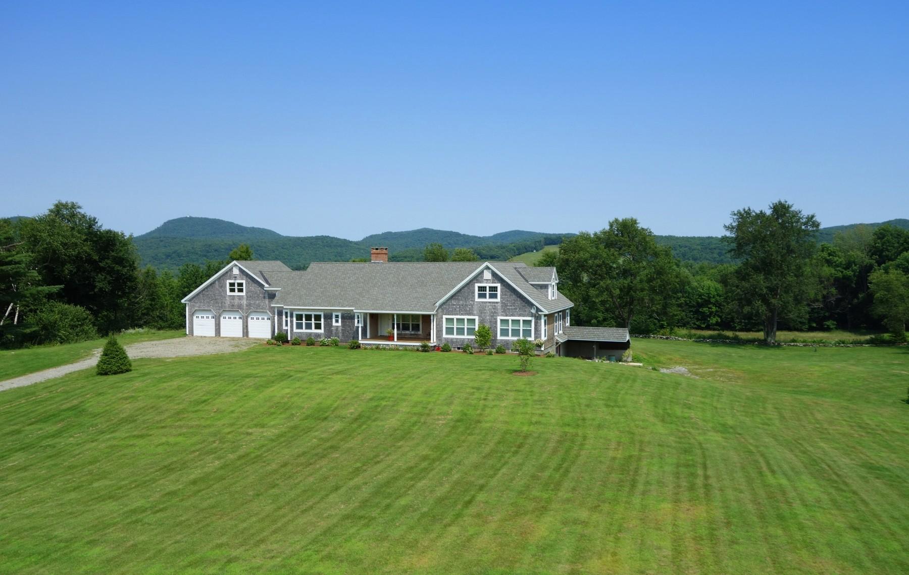 Maison unifamiliale pour l Vente à 4891 Route 133, Foxcobble Rd, Pawlet Pawlet, Vermont 05761 États-Unis