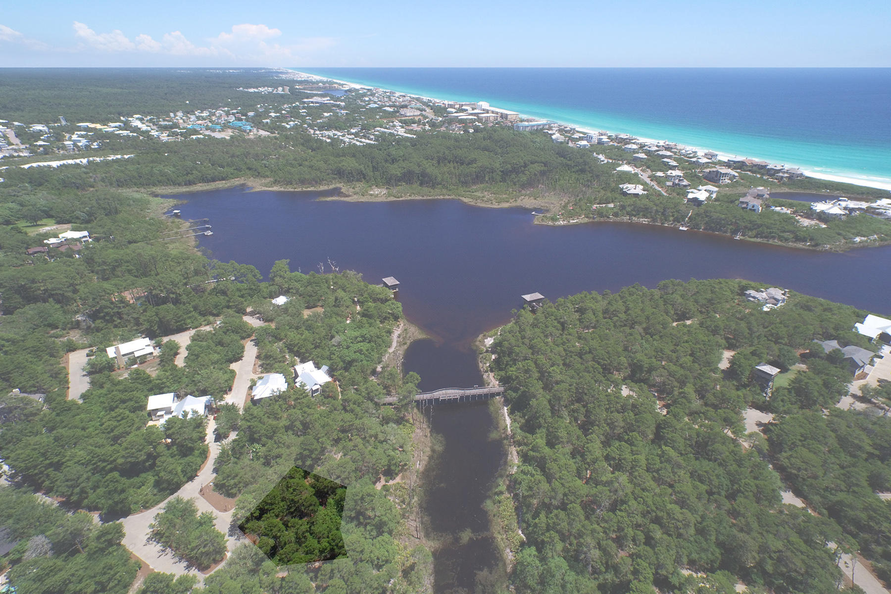 Property For Sale at EXCEPTIONALLY PRIVATE LAKEFRONT LOT