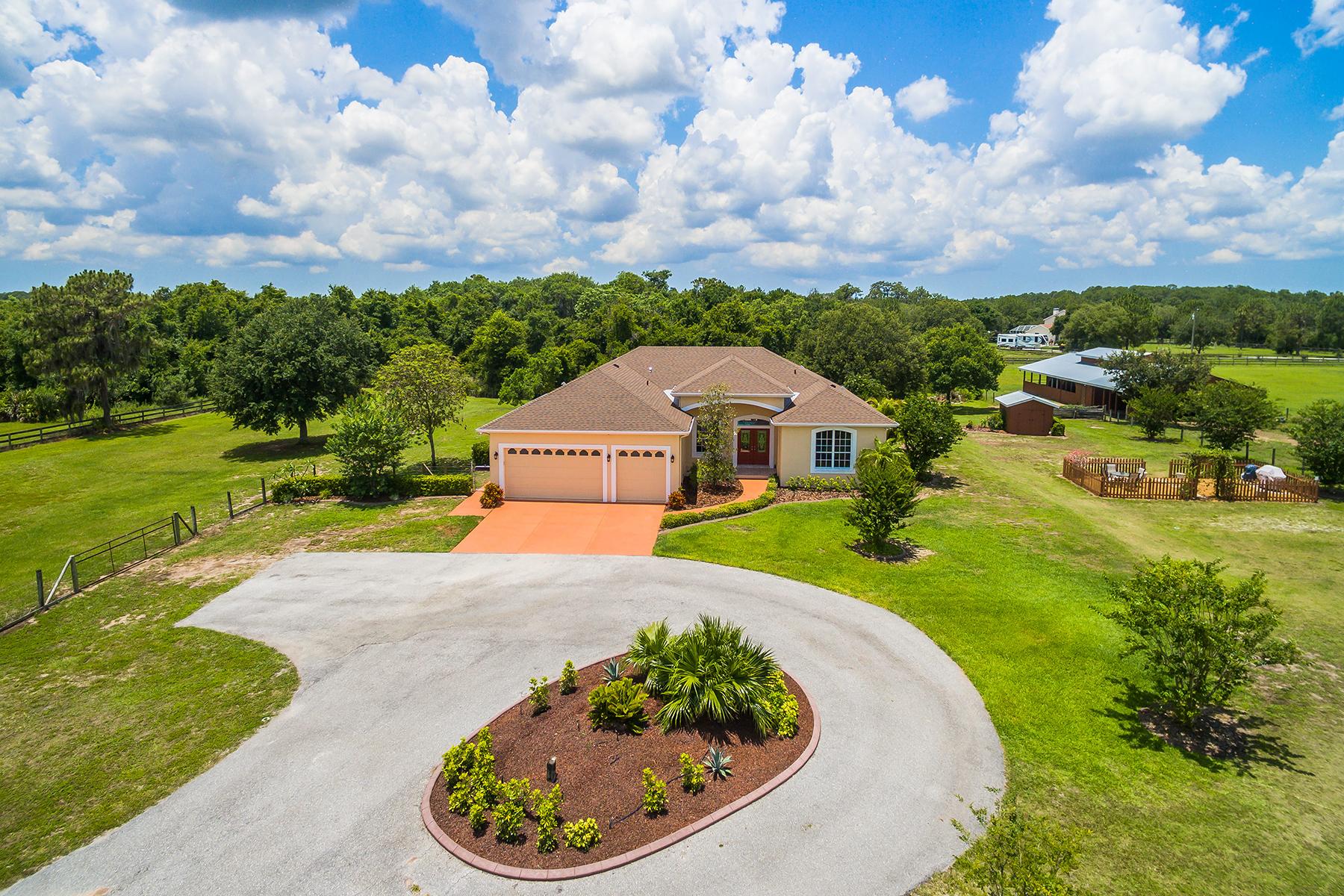 獨棟家庭住宅 為 出售 在 PANTHER RIDGE 6620 225th St E Bradenton, 佛羅里達州, 34211 美國