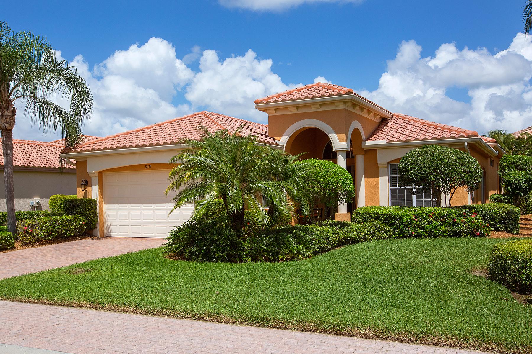 Casa para uma família para Venda às VASARI - CERCINA 12119 Via Cercina Dr Bonita Springs, Florida, 34135 Estados Unidos