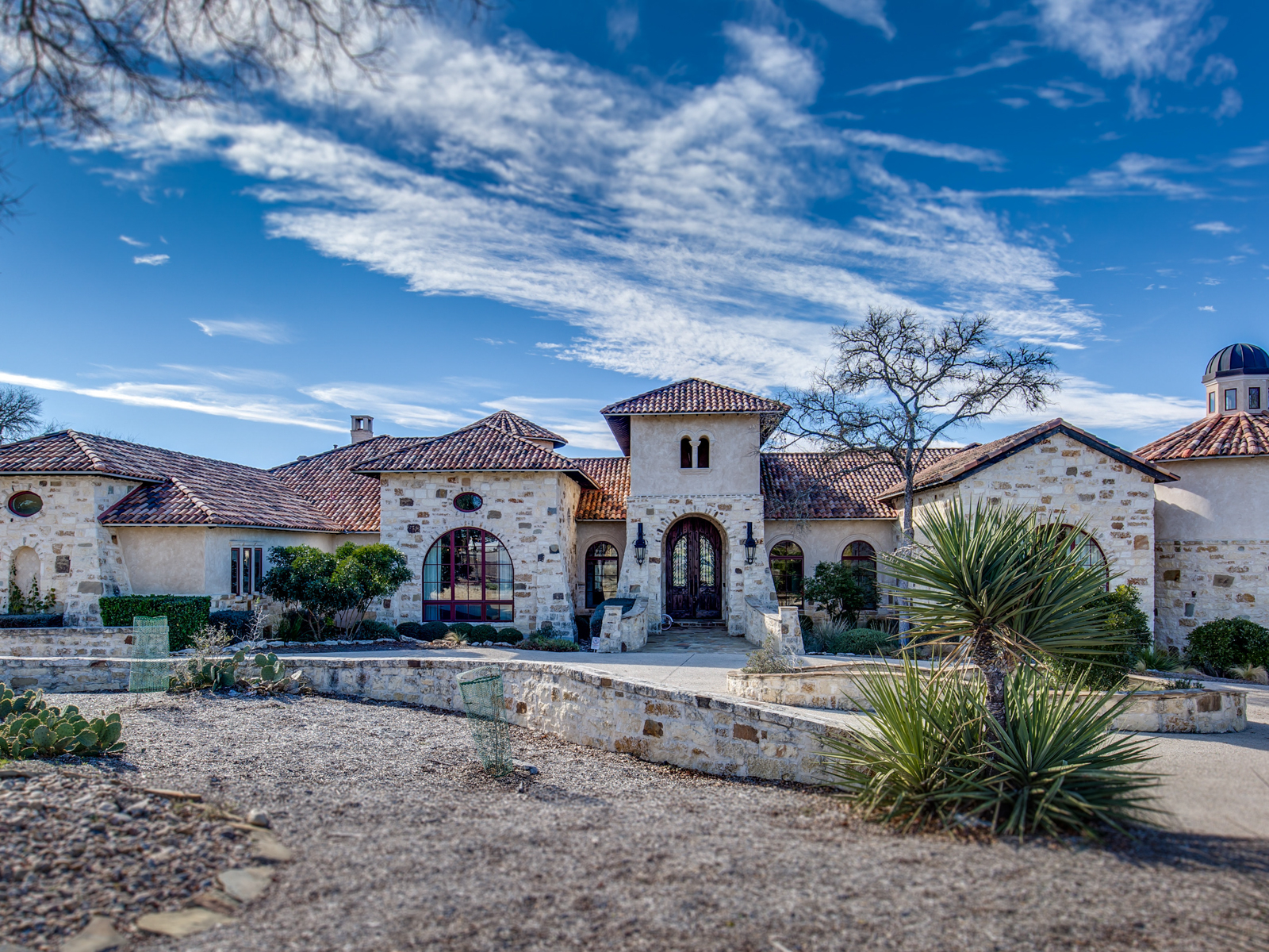 Single Family Home for Sale at Spectacular Estate in Cordillera Ranch 210 Riverwood Boerne, Texas 78006 United States