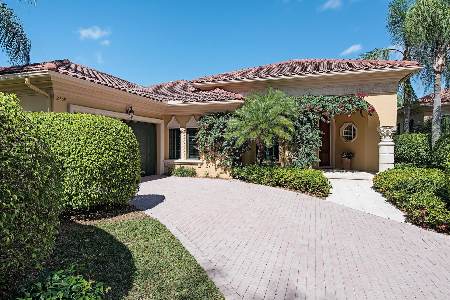 一戸建て のために 売買 アット Grey Oaks 2559 Avila Ln Naples, フロリダ, 34105 アメリカ合衆国