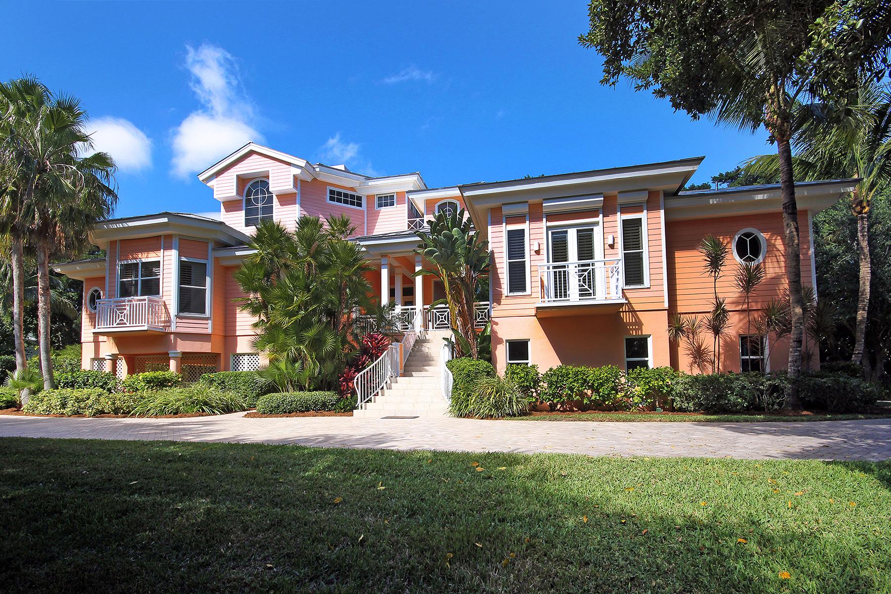 Maison unifamiliale pour l Vente à CAPTIVA 11530 Paige Ct Captiva, Florida 33924 États-Unis
