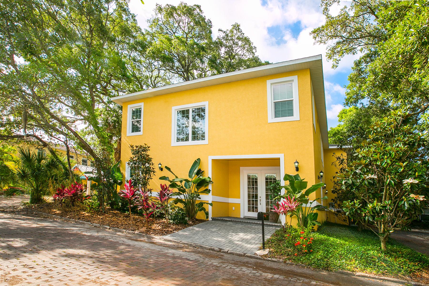 단독 가정 주택 용 매매 에 DOWNTOWN SARASOTA 1830 Hawkins Ct Sarasota, 플로리다 34236 미국