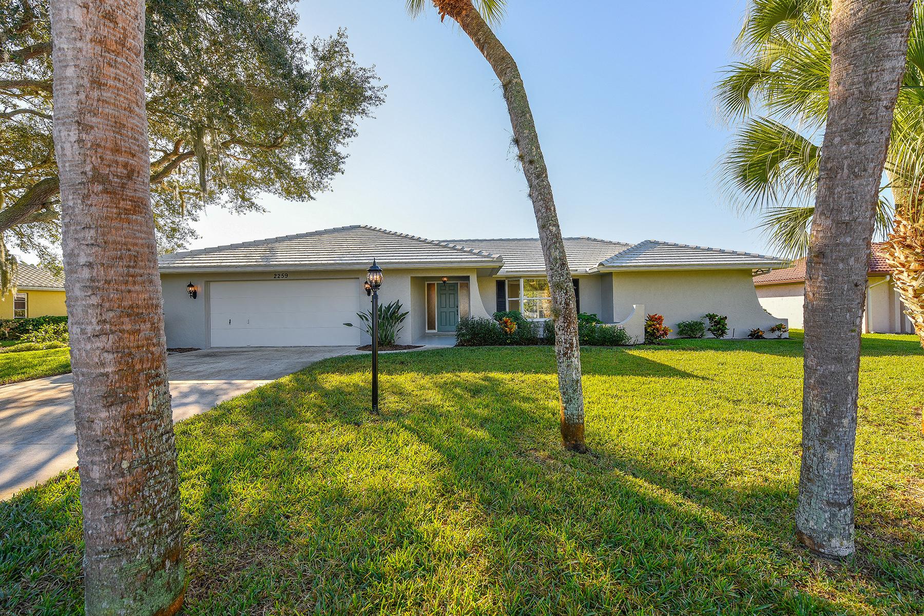 Single Family Home for Sale at SORRENTO EAST 2259 Lakewood Dr Nokomis, Florida 34275 United States