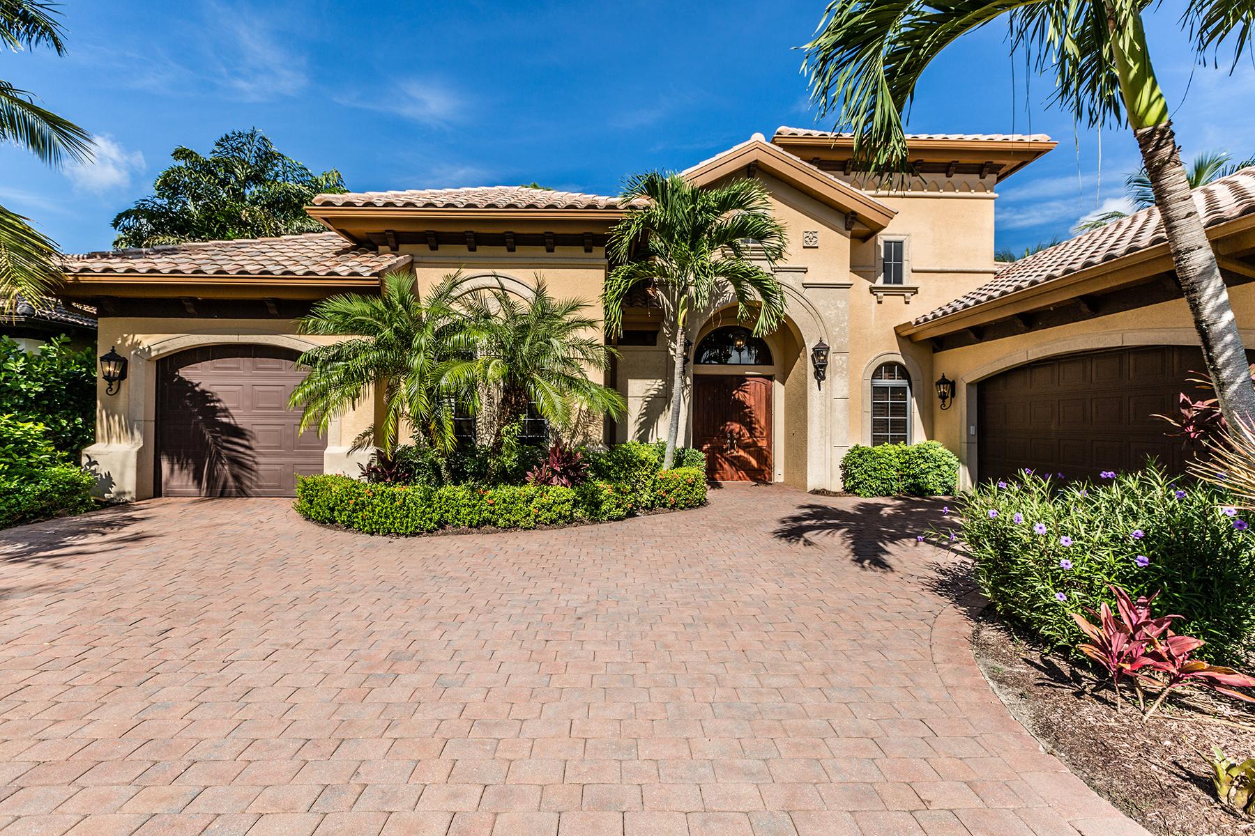 Single Family Home for Sale at LELY RESORT - MAJORS 9058 Shenendoah Cir Naples, Florida, 34113 United States