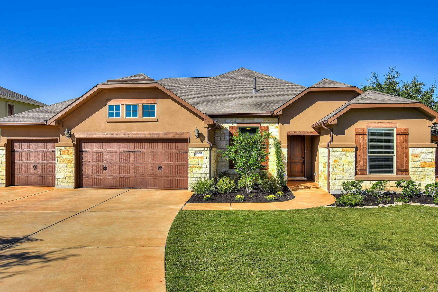 Single Family Home for Sale at Amazing Stone and Stucco Grand Haven Home 2017 Harvest Dance Dr Leander, Texas 78641 United States