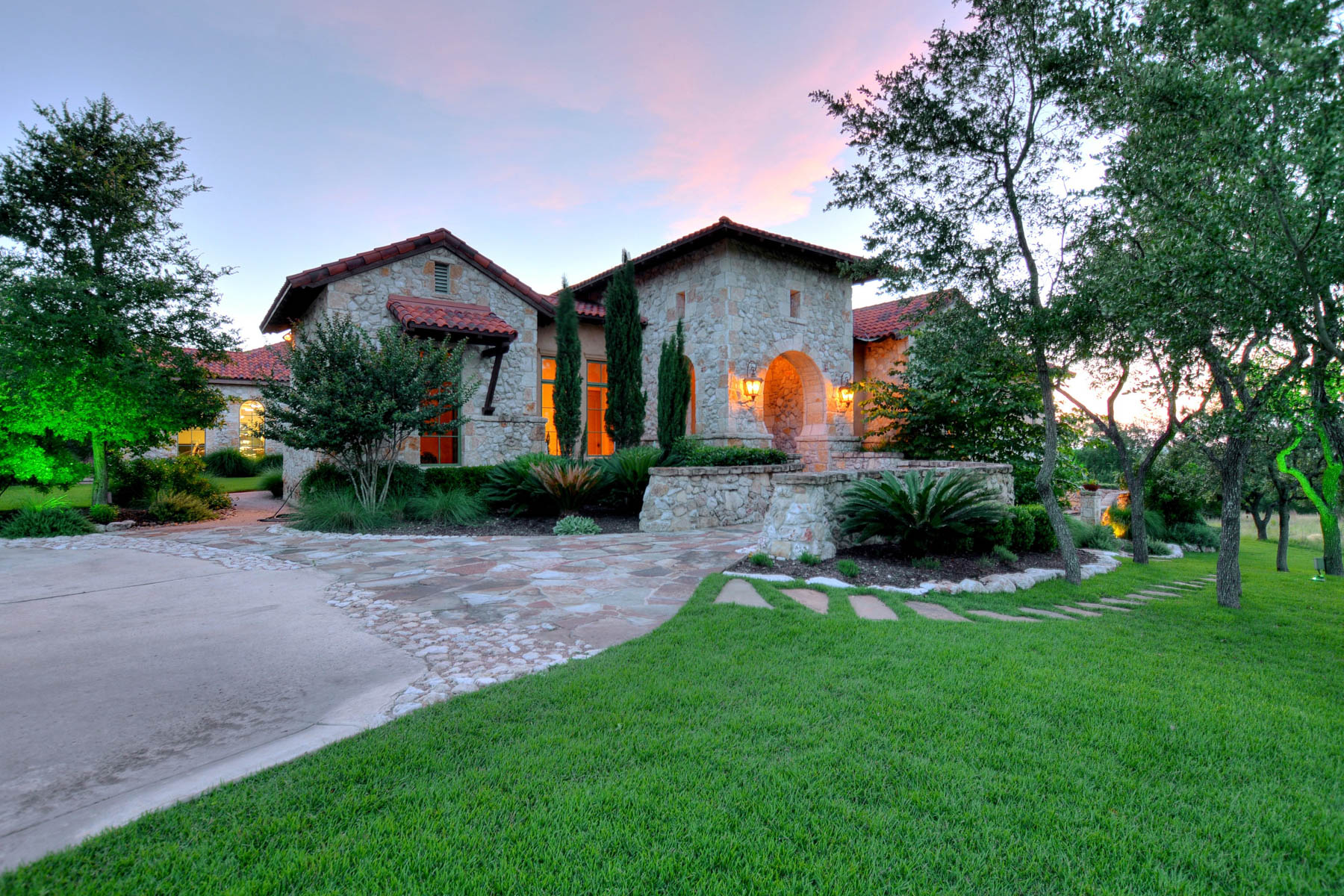 Single Family Home for Sale at Italian Inspired Masterpiece in Cordillera Ranch 533 Clubs Dr Boerne, Texas 78006 United States