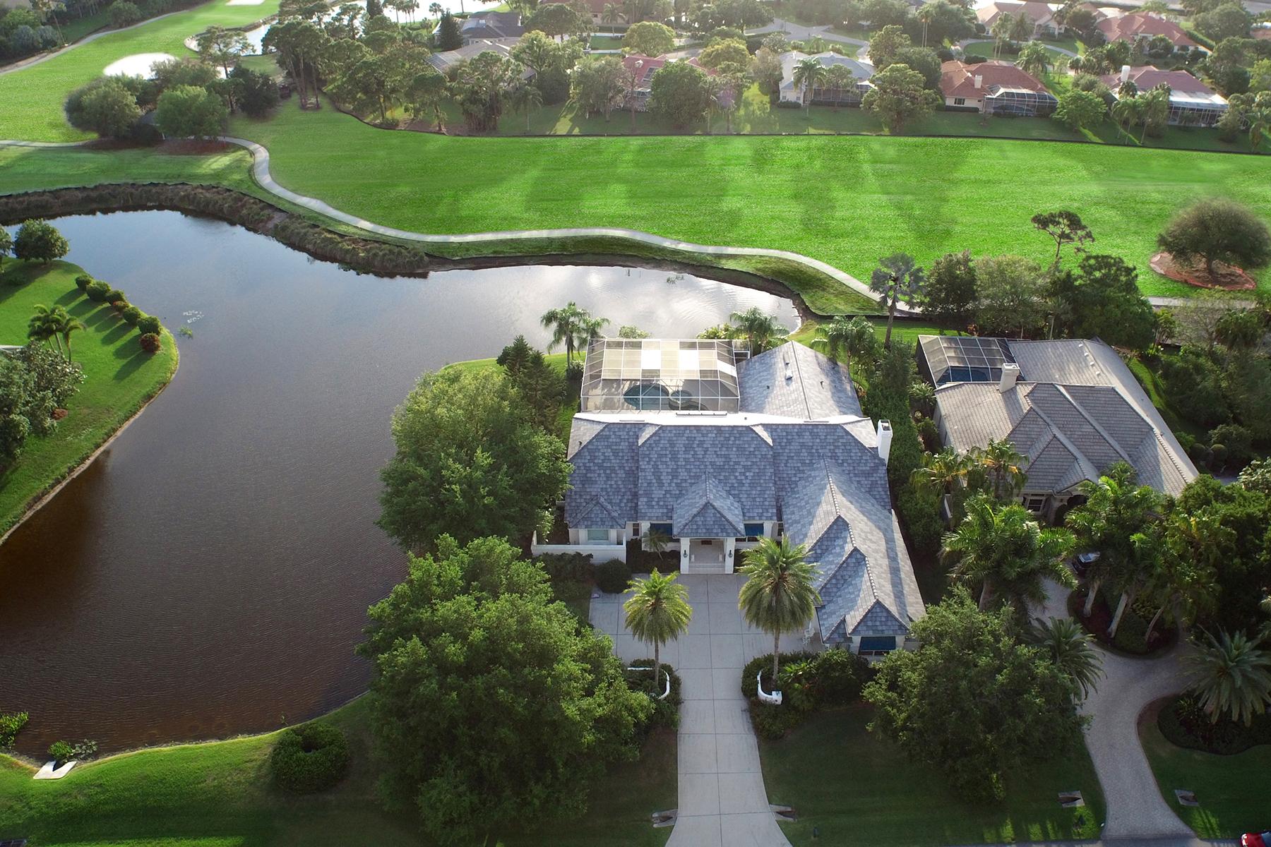 Maison unifamiliale pour l Vente à THE OAKS 447 E Macewen Dr Osprey, Florida 34229 États-Unis