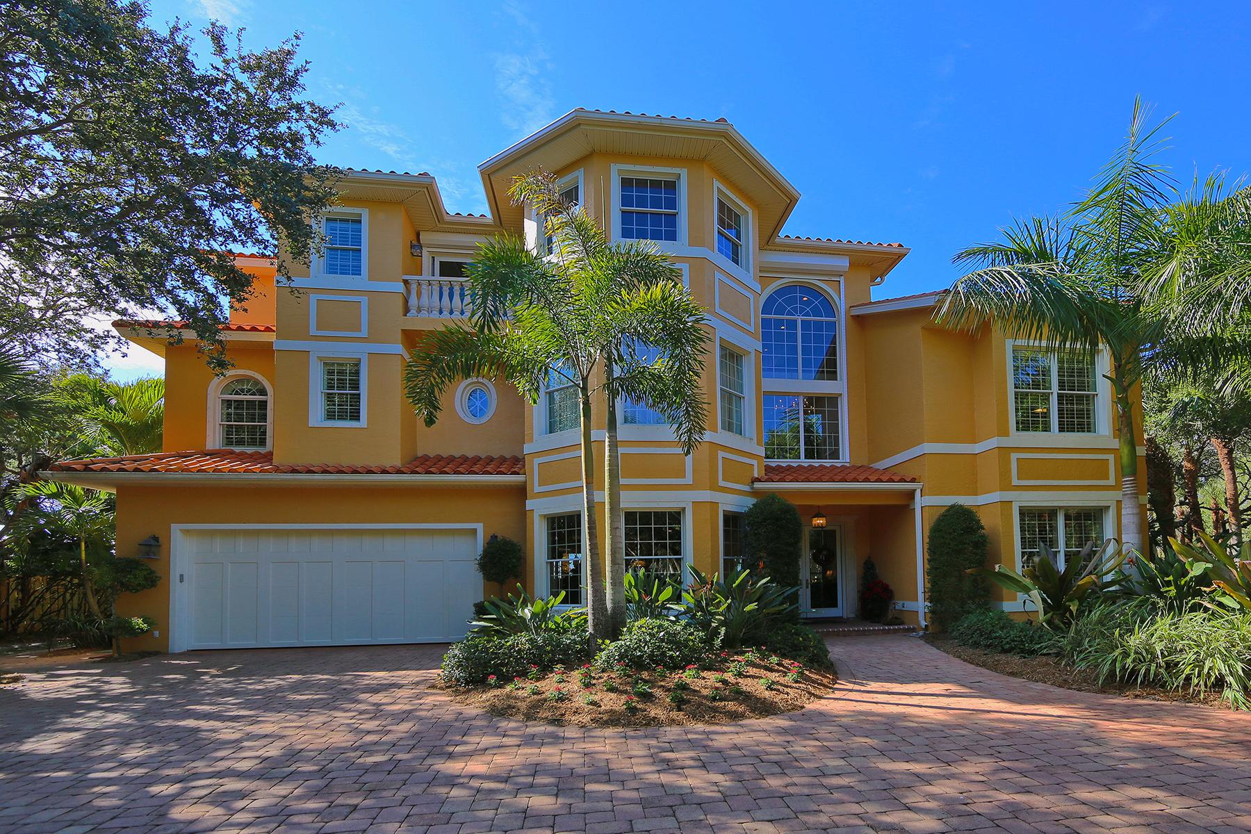 Casa para uma família para Venda às MANASOTA KEY 6310 Manasota Key Rd Englewood, Florida 34223 Estados Unidos
