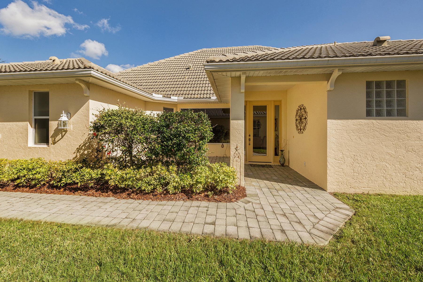 Maison accolée pour l Vente à TALON BAY 8661 Hawk Nest Ln North Port, Florida, 34287 États-Unis