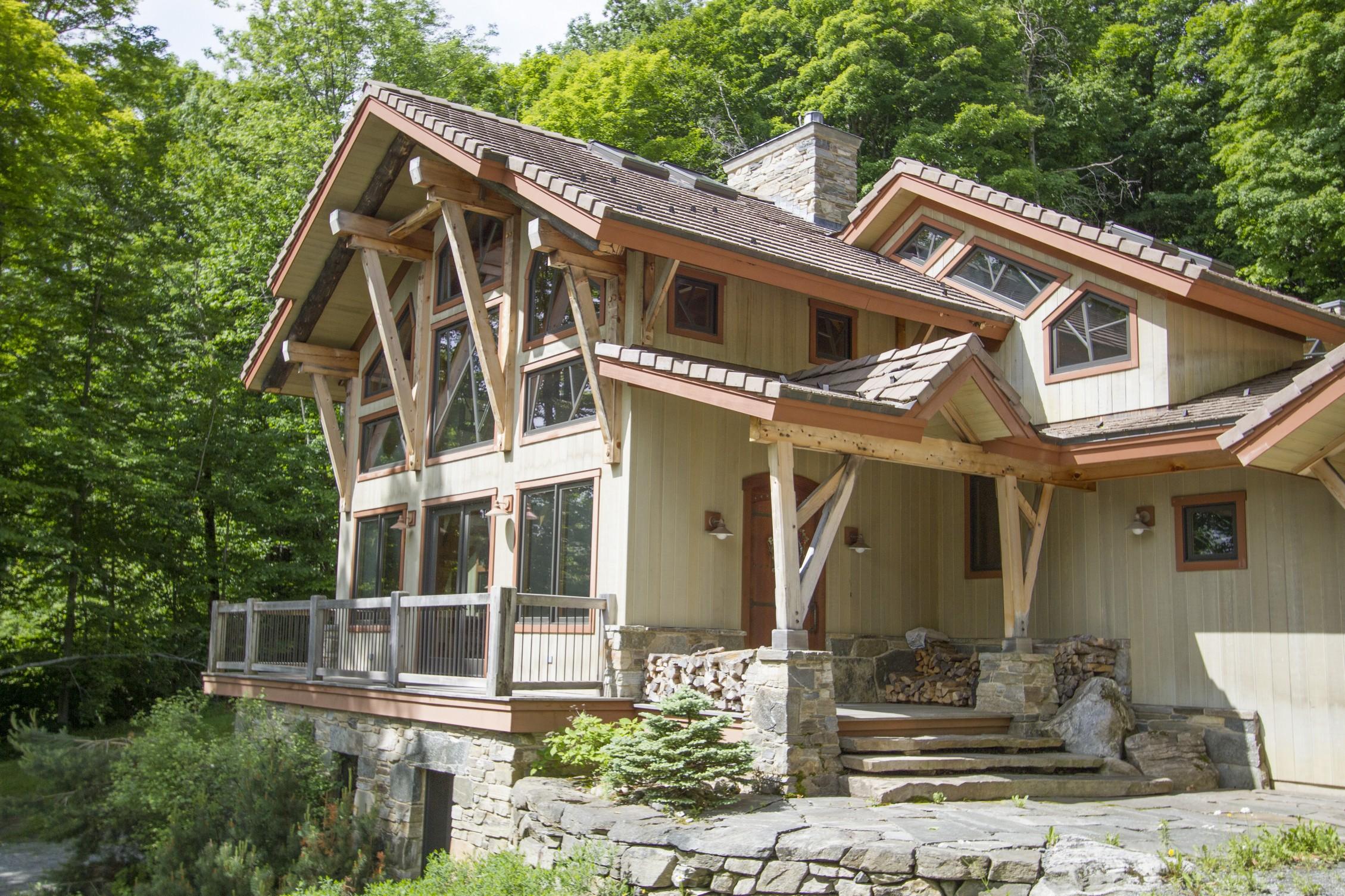 Casa Unifamiliar por un Venta en Exceptional Mountain 27 Windtree Rd Winhall, Vermont 05340 Estados Unidos