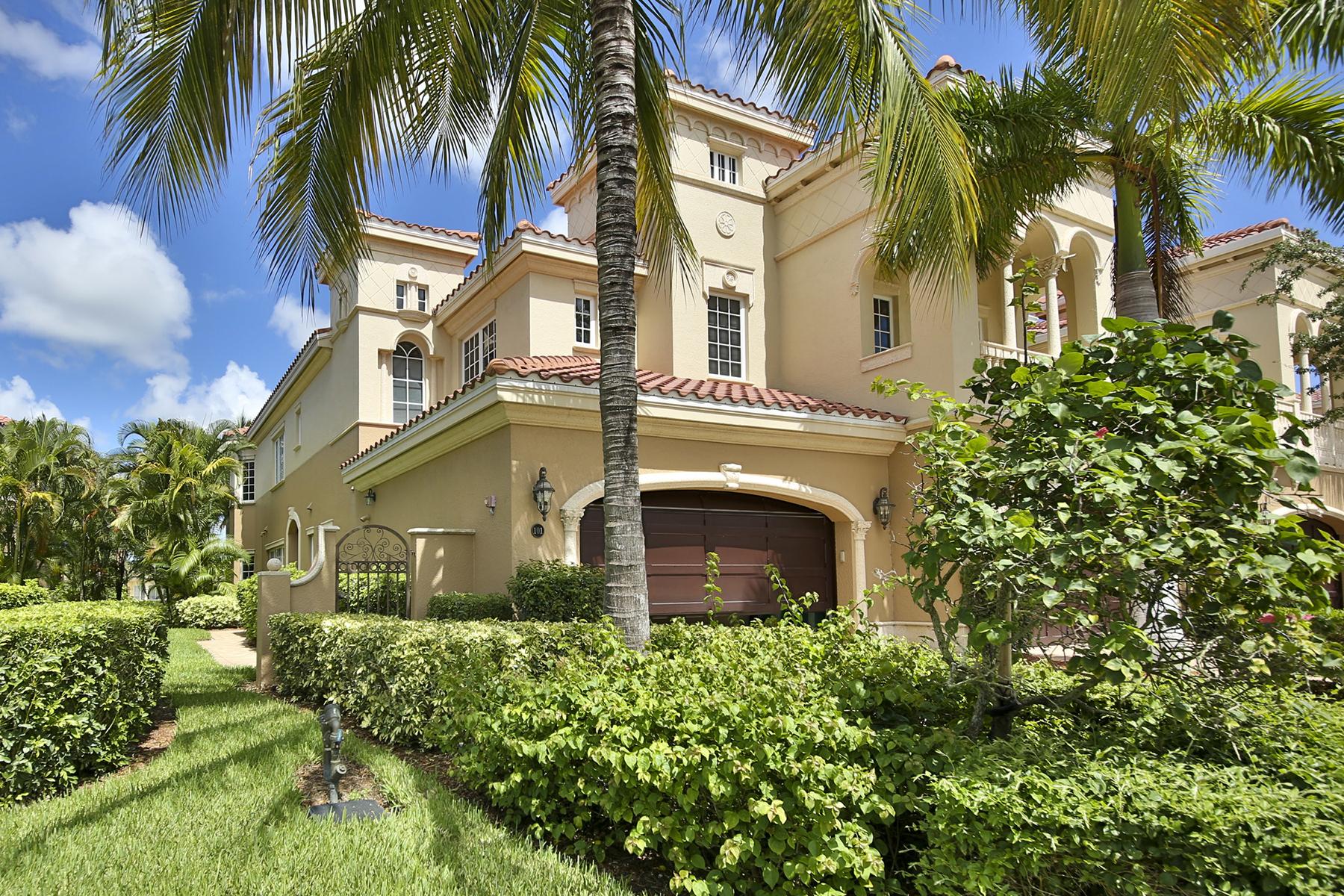 콘도미니엄 용 매매 에 FIDDLER'S CREEK - MENAGGIO 9293 Menaggio Ct 101 Naples, 플로리다, 34114 미국