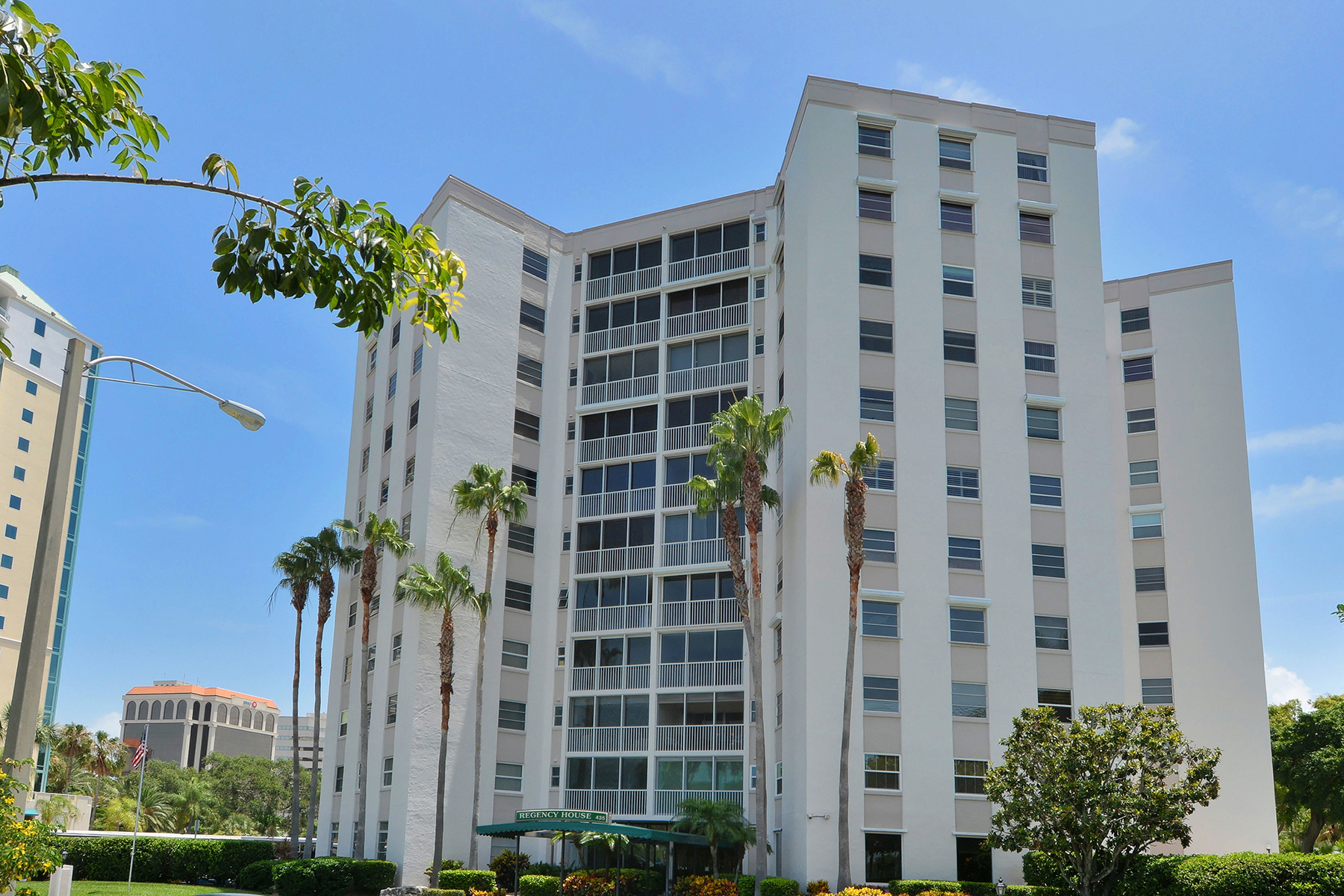 Condominium for Sale at REGENCY HOUSE 435 S Gulfstream Ave 404 Sarasota, Florida, 34236 United States