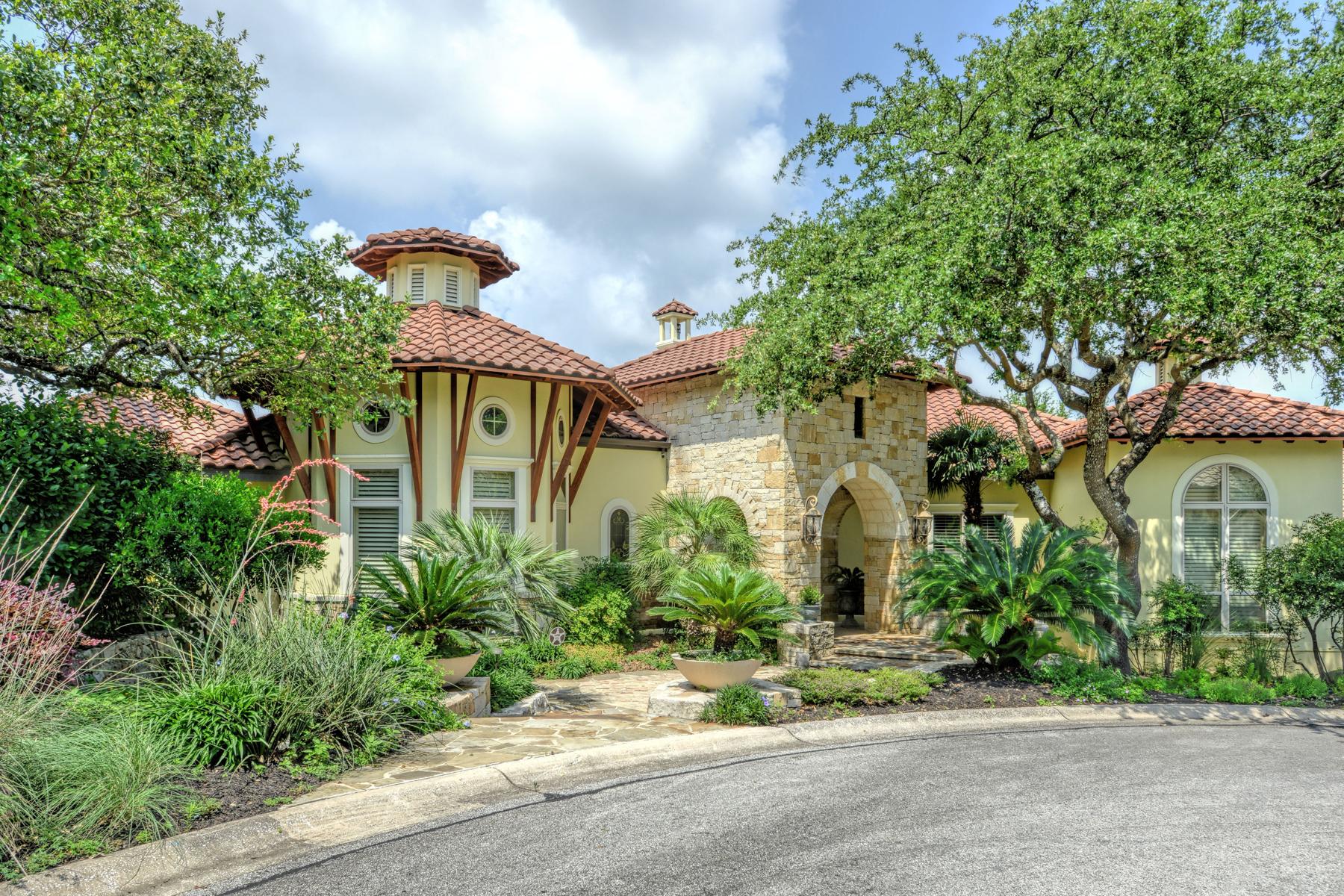 Single Family Home for Sale at Breathtaking Kenigstein Estate in The Dominion 7 Venice Ct The Dominion, San Antonio, Texas, 78257 United States