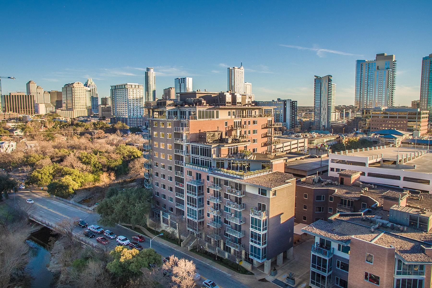 Condomínio para Venda às Two-Story Penthouse 901 W 9th St 701 Austin, Texas, 78703 Estados Unidos