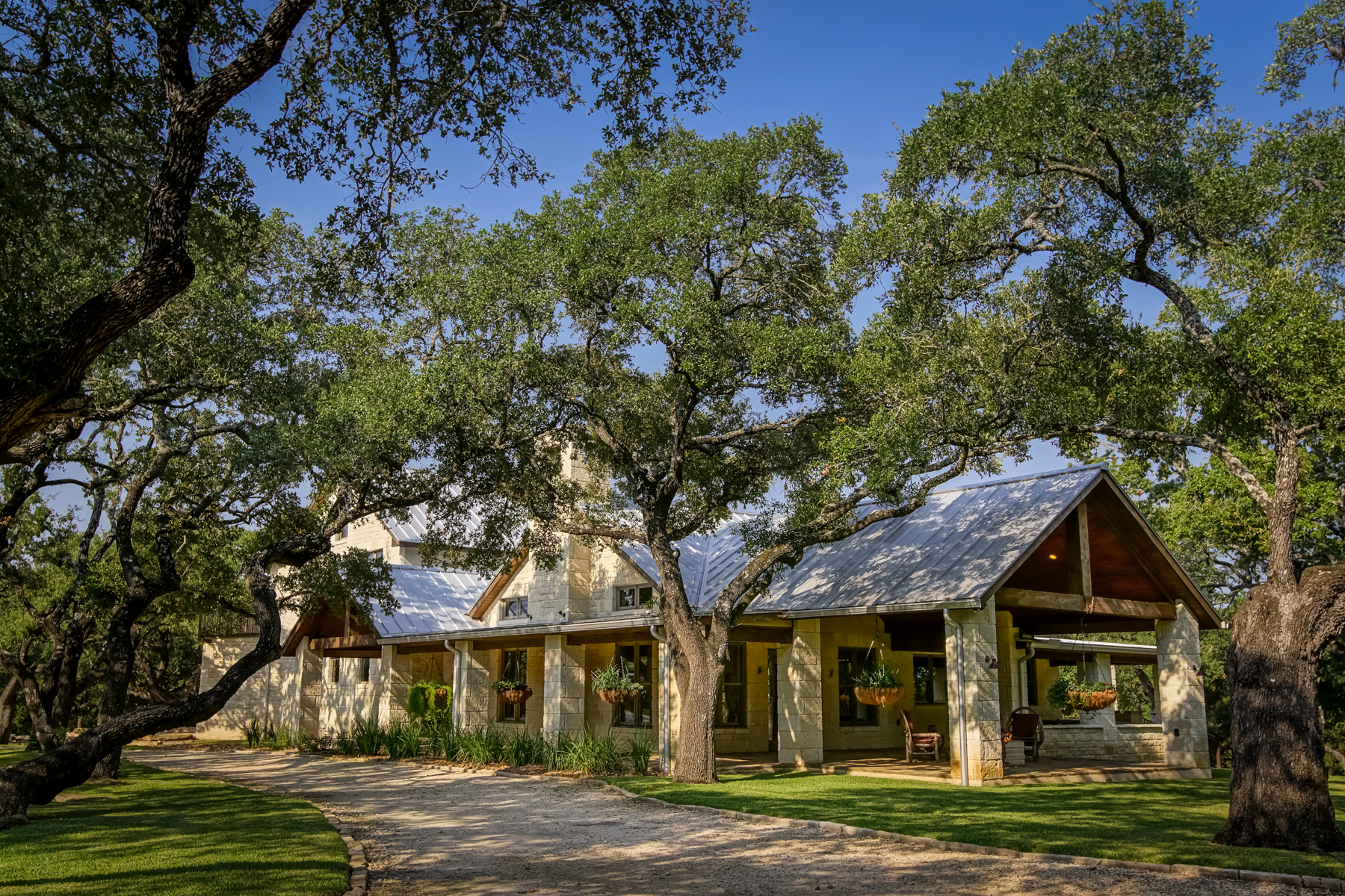 Single Family Home for Sale at Spectacular Estate in Boerne 35 Old San Antonio Rd Boerne, Texas 78006 United States