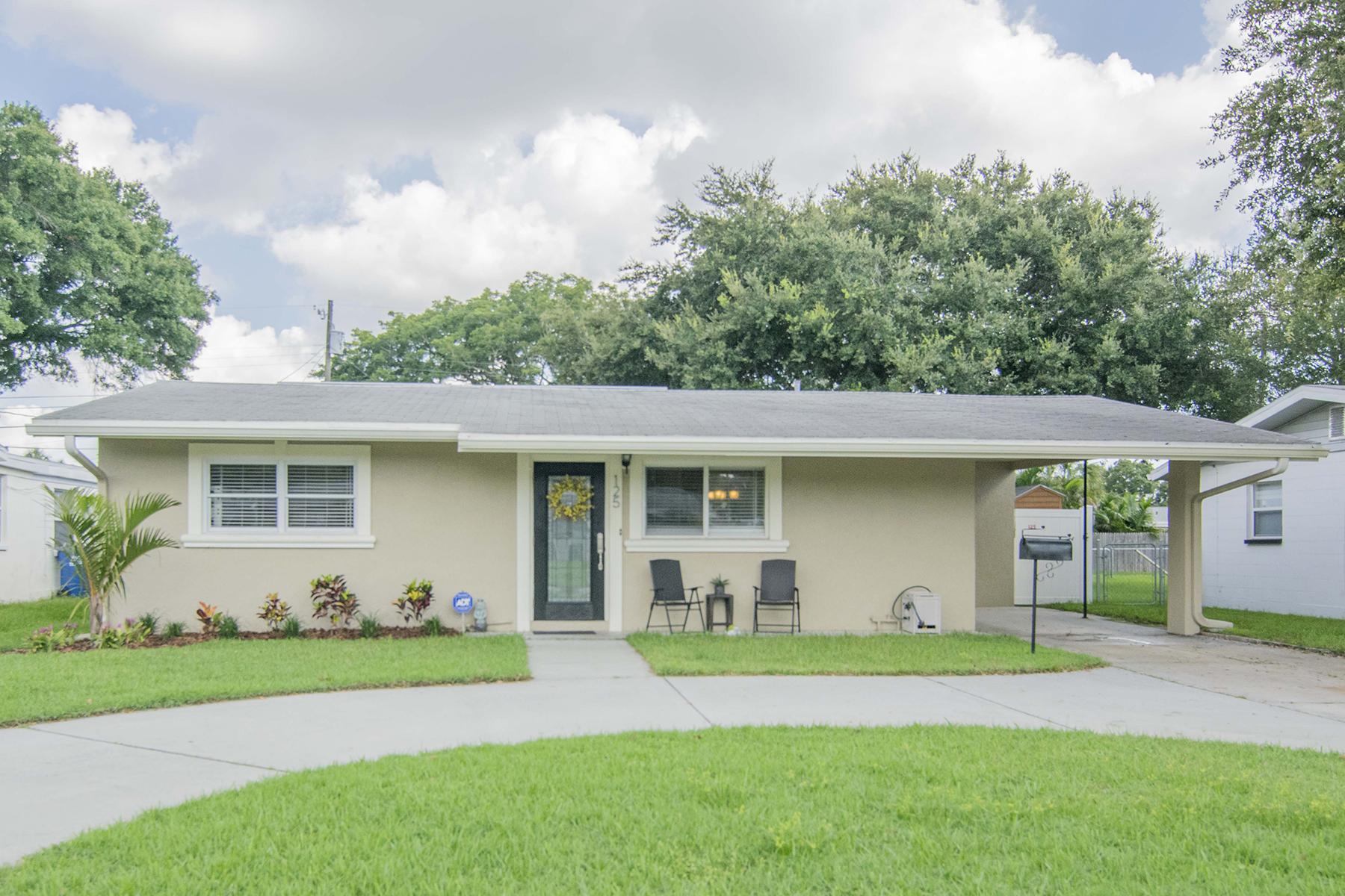 단독 가정 주택 용 매매 에 ST. PETERSBURG 125 43rd Ave NE St. Petersburg, 플로리다 33703 미국