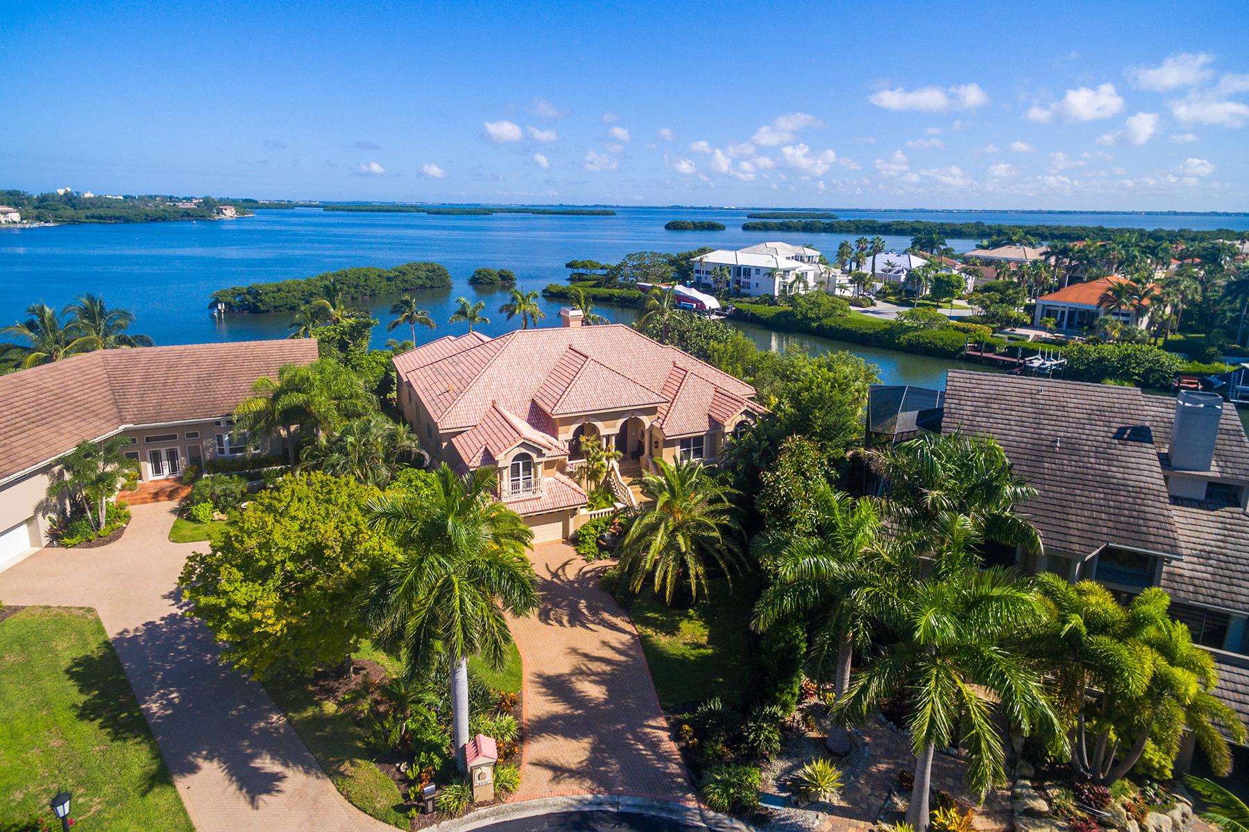 Maison unifamiliale pour l Vente à BAY ISLES 3531 Bayou Pointe Longboat Key, Florida, 34228 États-Unis