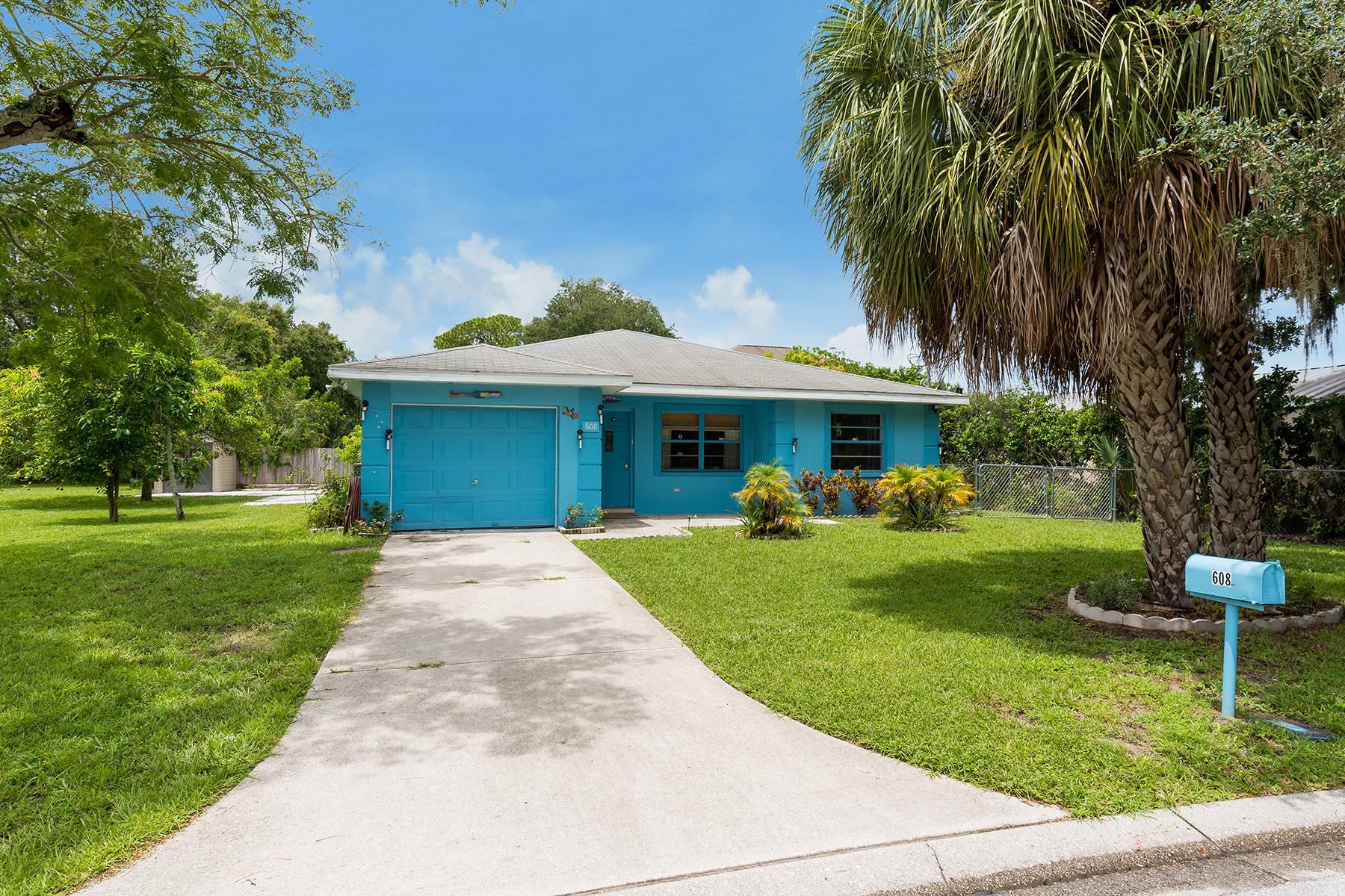 단독 가정 주택 용 매매 에 BRADENTON 608 29th St E Bradenton, 플로리다, 34208 미국