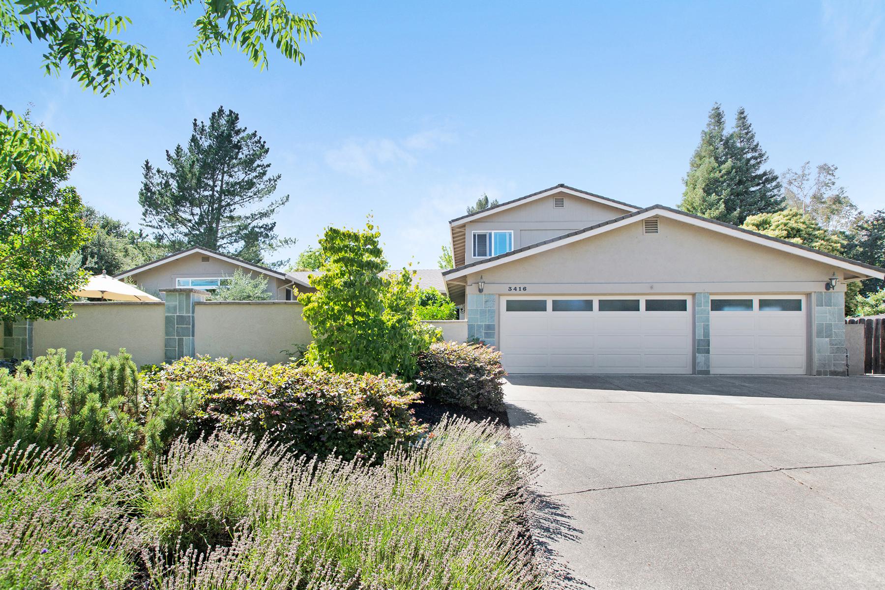 Casa Unifamiliar por un Venta en 3416 Ellen Way, Napa, CA 94558 3416 Ellen Way Napa, California, 94558 Estados Unidos