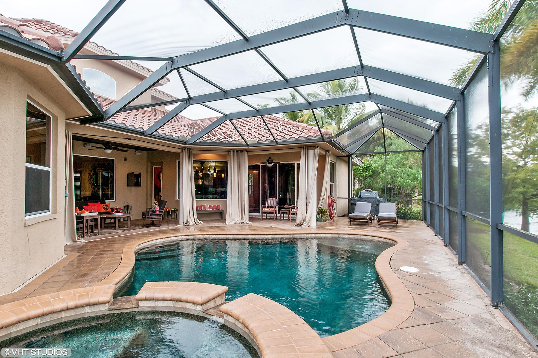 Частный односемейный дом для того Продажа на INDIGO LAKES - INDIGO PRESERVE 14865 Tybee Island Dr Naples, Флорида 34119 Соединенные Штаты