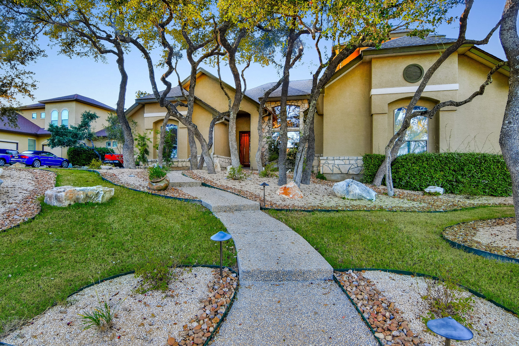 sales property at Single-Story Estate in Heights at Stone Oak
