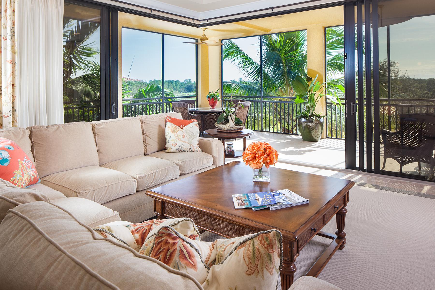 コンドミニアム のために 売買 アット TIBURON - MARQUESA ROYALE 2546 Marquesa Royale Ln 7-201 Naples, フロリダ, 34109 アメリカ合衆国