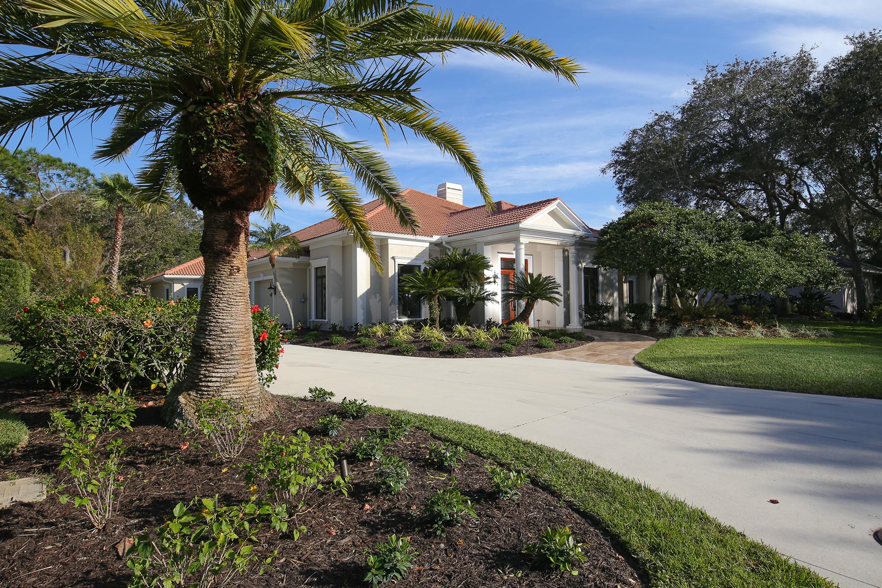 一戸建て のために 売買 アット OAKS 373 Sugar Mill Dr Osprey, フロリダ, 34229 アメリカ合衆国
