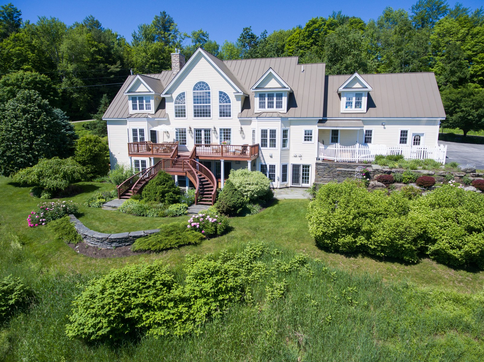 Single Family Home for Sale at Panaramic views of Worcester Range 36 Snowshoe Trl Waterbury, Vermont, 05676 United States