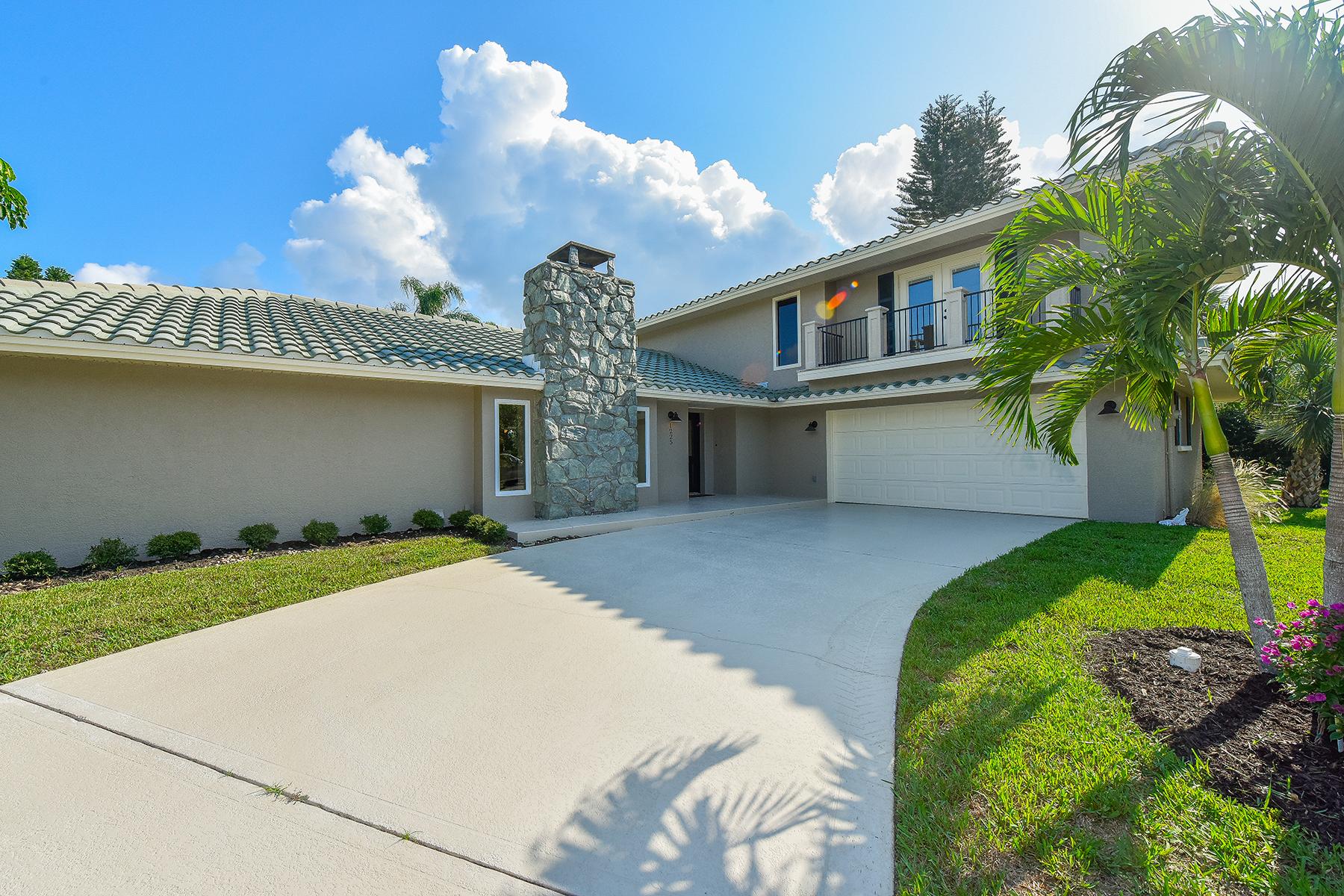단독 가정 주택 용 매매 에 PRINCESS GATE 1225 Whitehall Pl Sarasota, 플로리다, 34242 미국