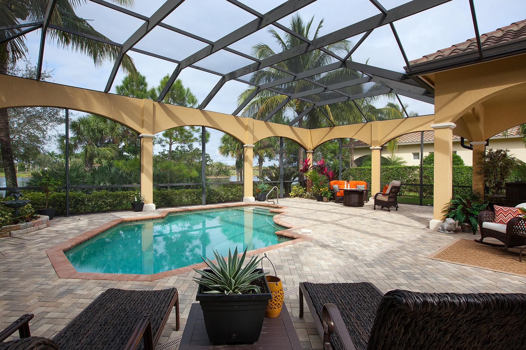 Einfamilienhaus für Verkauf beim FIDDLER'S CREEK - SAUVIGNON 3299 Hyacinth Dr Naples, Florida 34114 Vereinigte Staaten