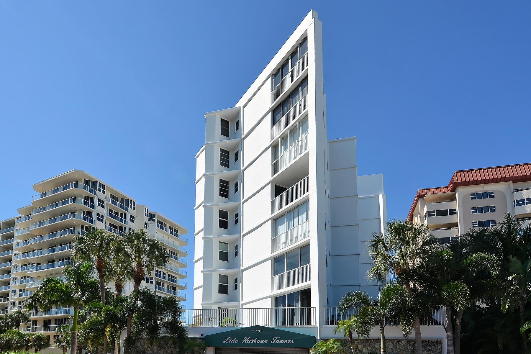 共管物業 為 出售 在 SARASOTA 1770 Benjamin Franklin Dr 407 Sarasota, 佛羅里達州, 34236 美國