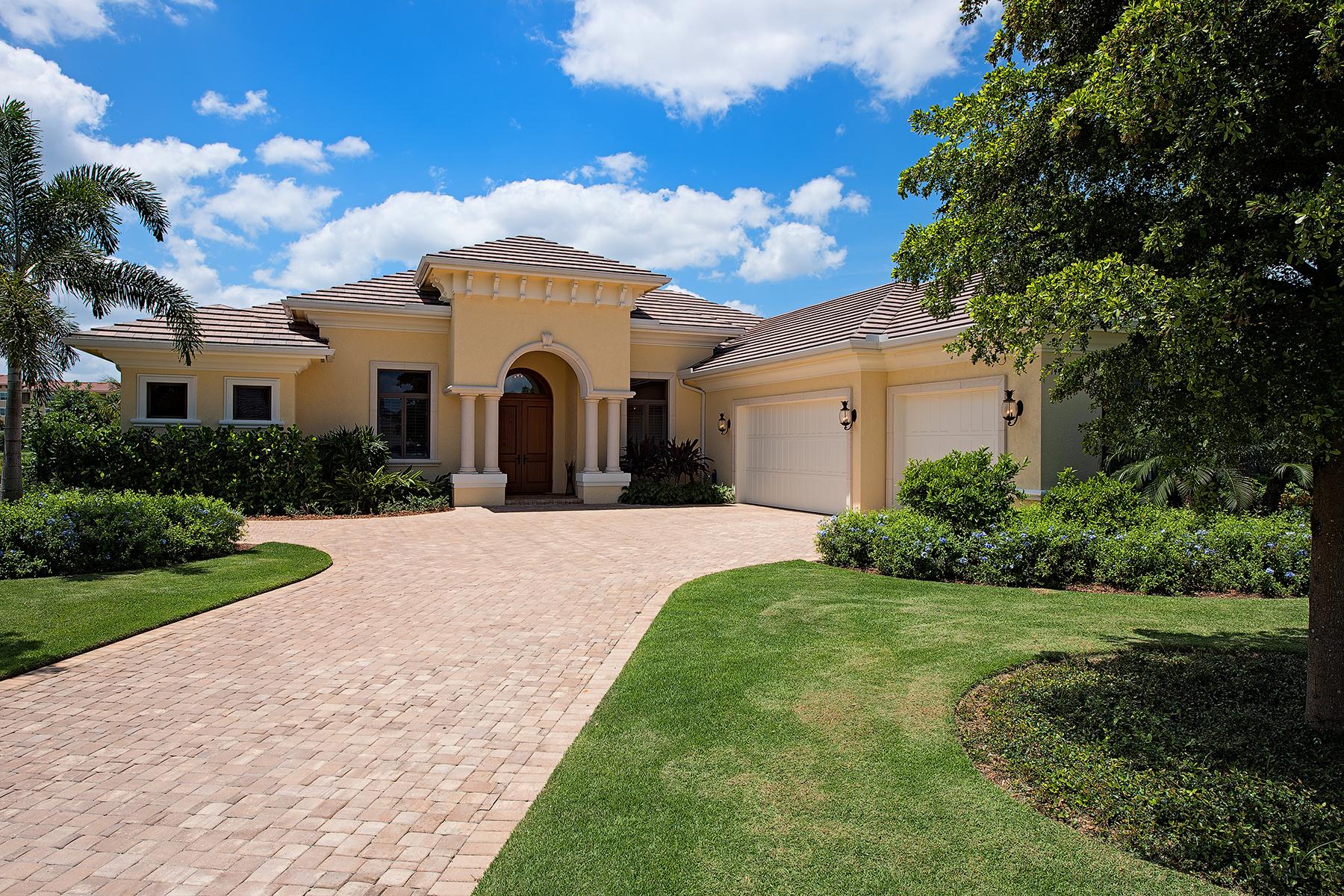 단독 가정 주택 용 매매 에 TIBURON - MARSALA 14439 Marsala Way Naples, 플로리다 34109 미국