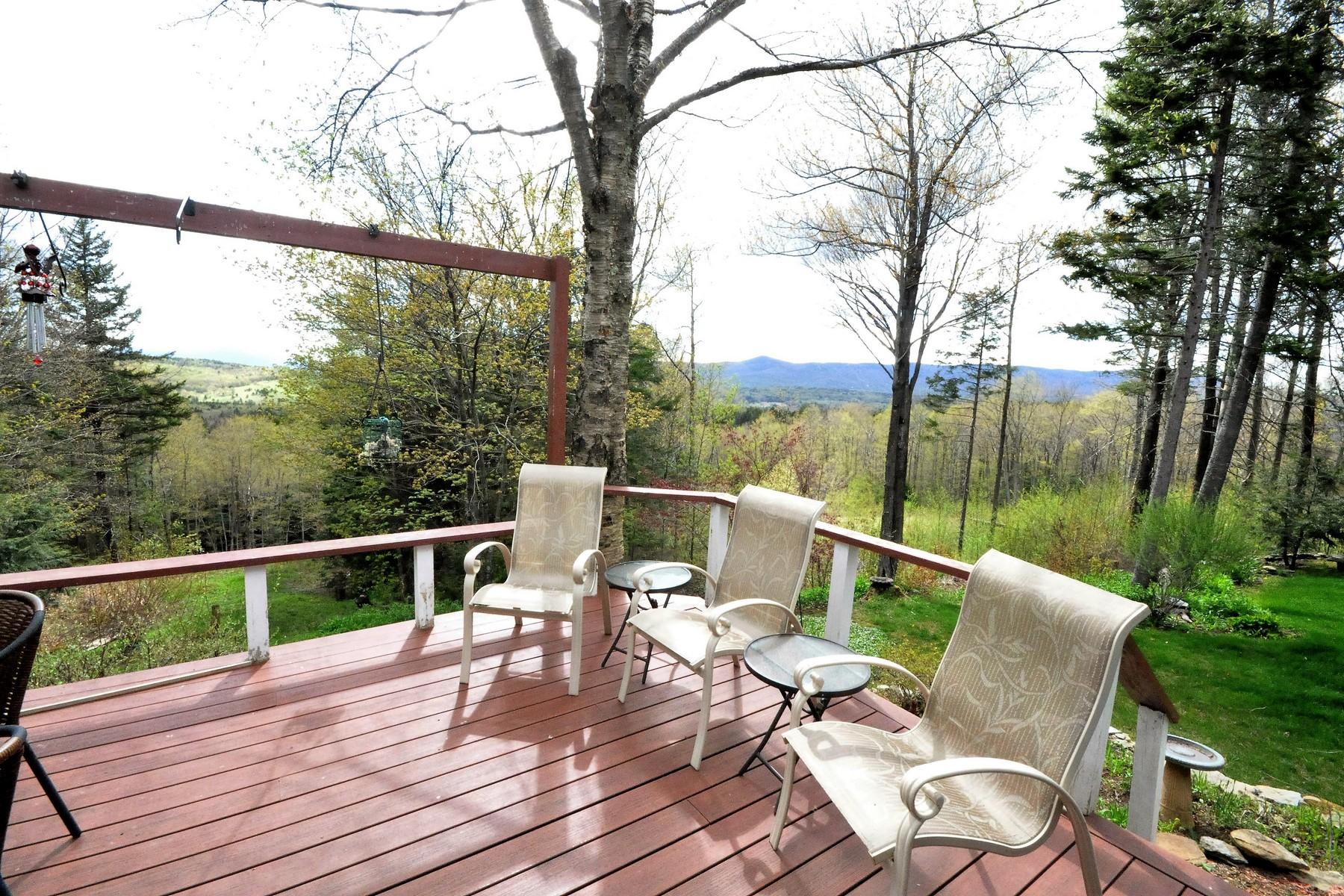 獨棟家庭住宅 為 出售 在 Views, Views, Views! 185 Old Town Rd Wilmington, 佛蒙特州, 05363 美國