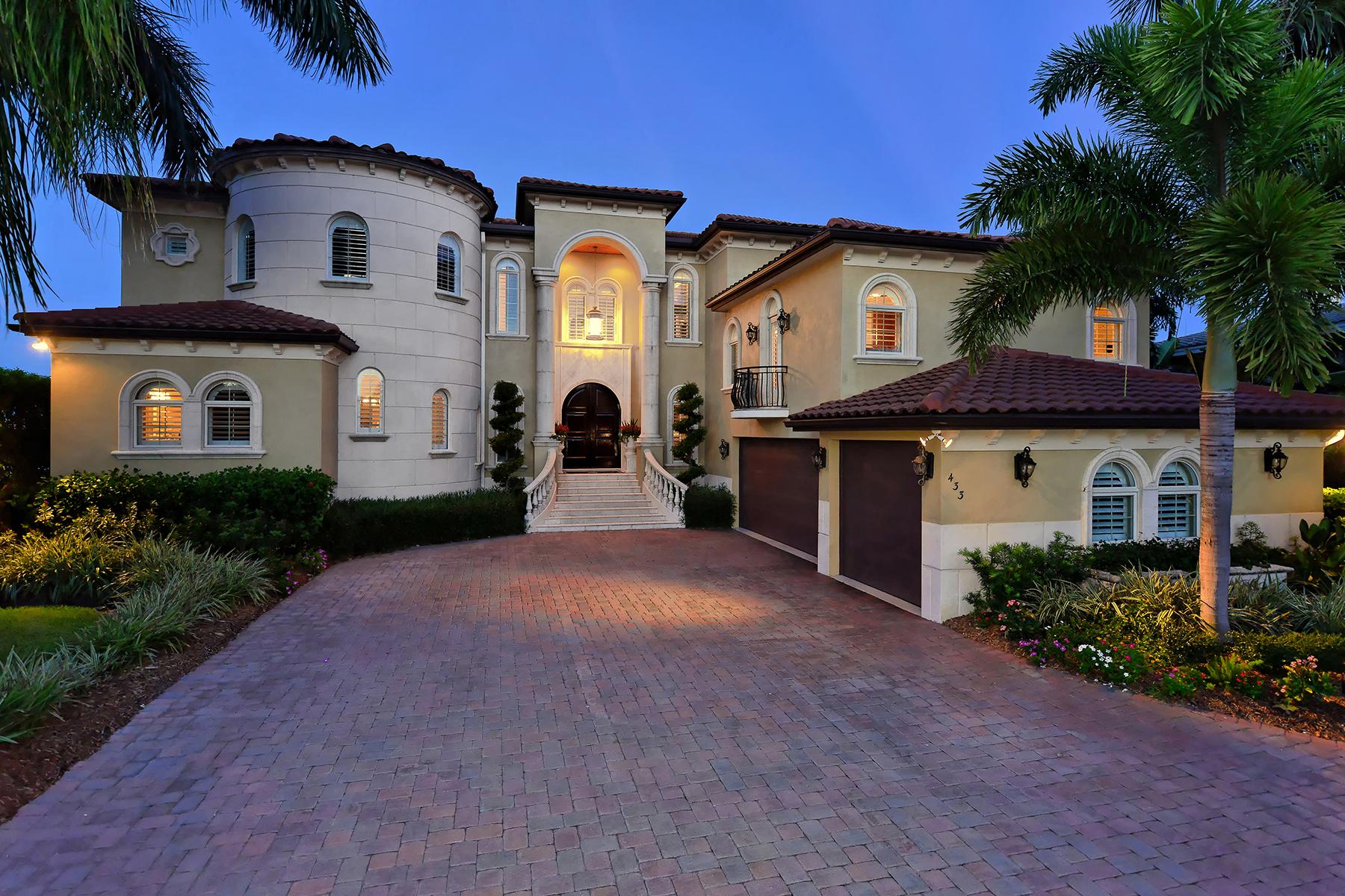 단독 가정 주택 용 매매 에 BIRD KEY 433 Meadow Lark Dr Sarasota, 플로리다 34236 미국