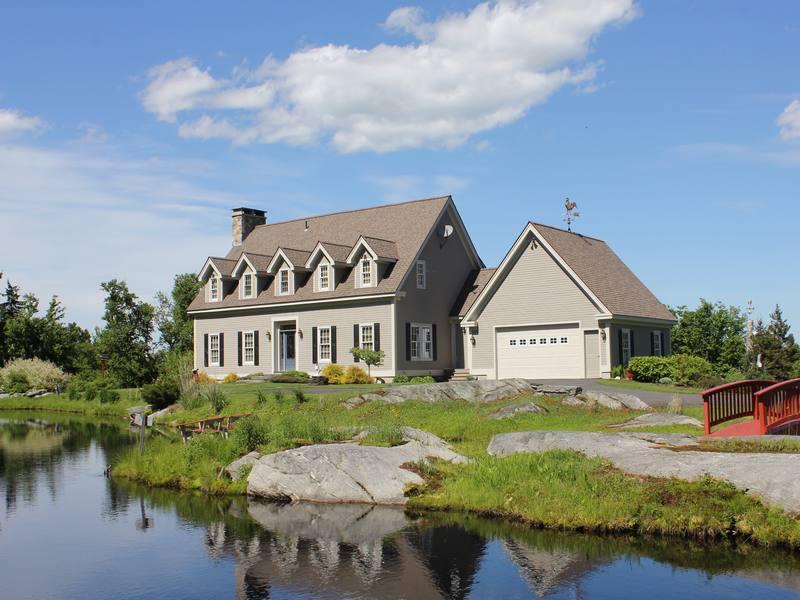 단독 가정 주택 용 매매 에 Mountain top estate with east views 695 Fischer Island Dr Stratton, 베르몬트 05360 미국