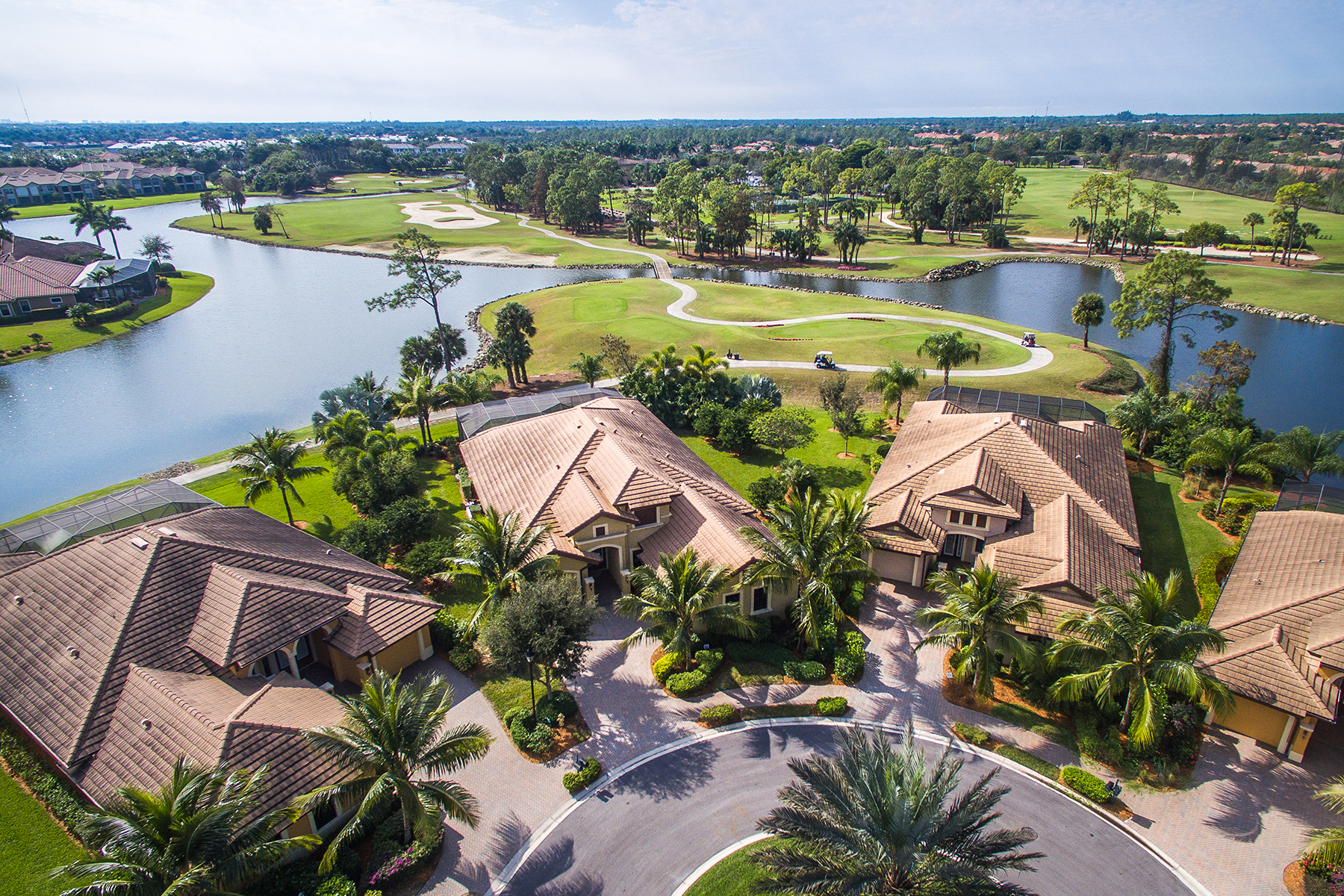 Maison unifamiliale pour l Vente à LELY RESORT - CLASSICS PLANTATION ESTATES 7498 Martinique Naples, Florida 34113 États-Unis